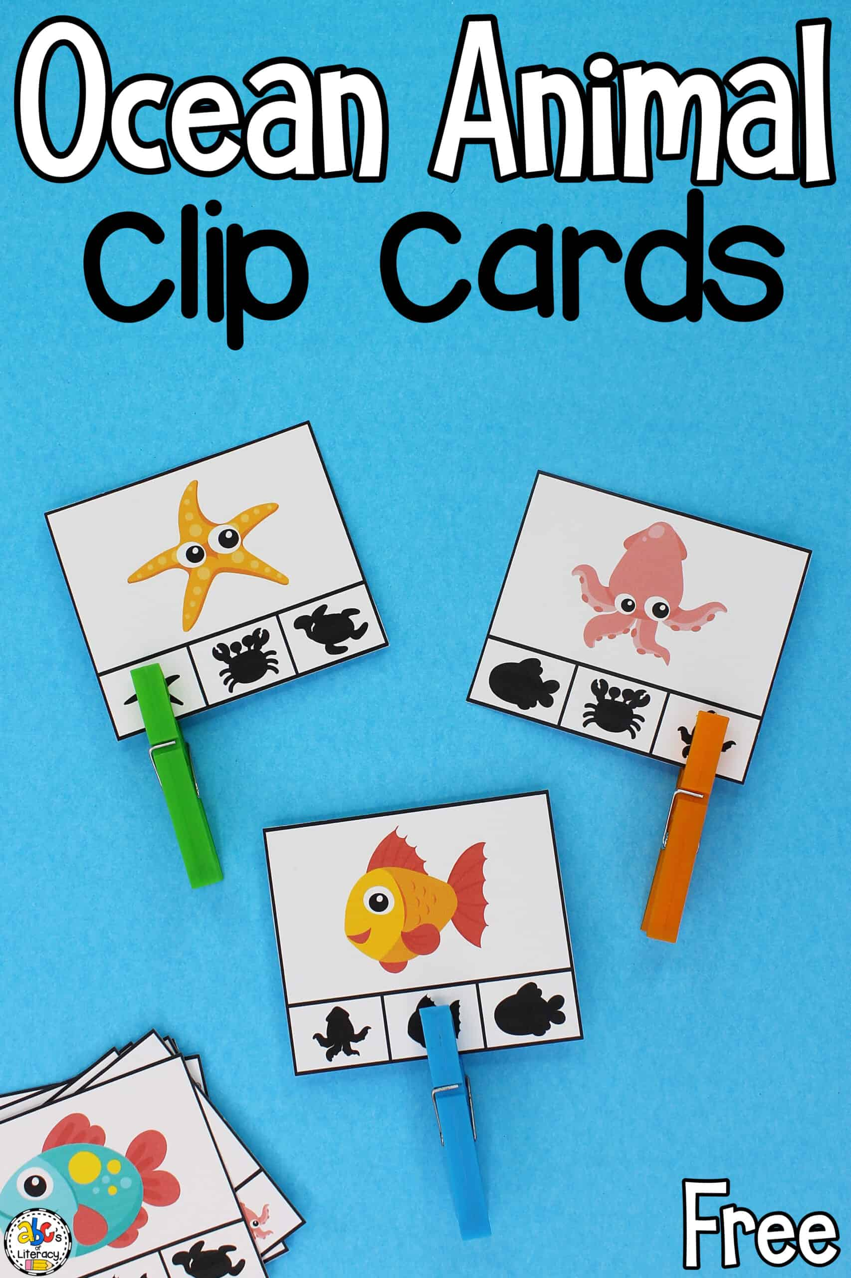 Free Printable Clip Cards