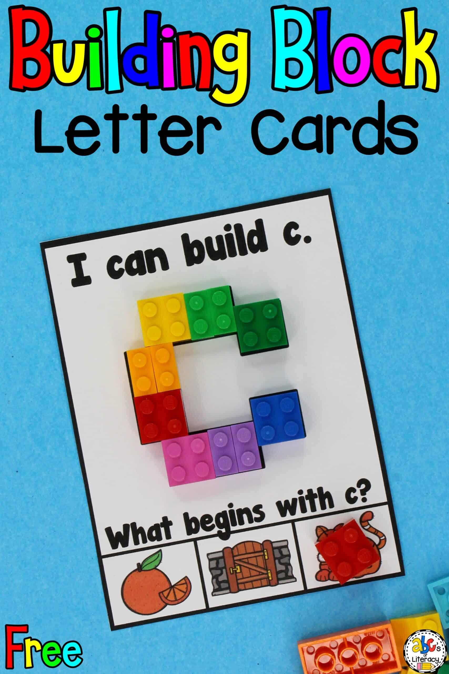 Lego Letter Cards