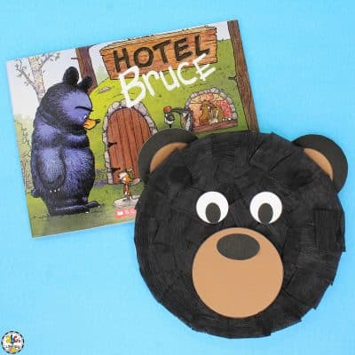 Black Bear Paper Plate Craft
