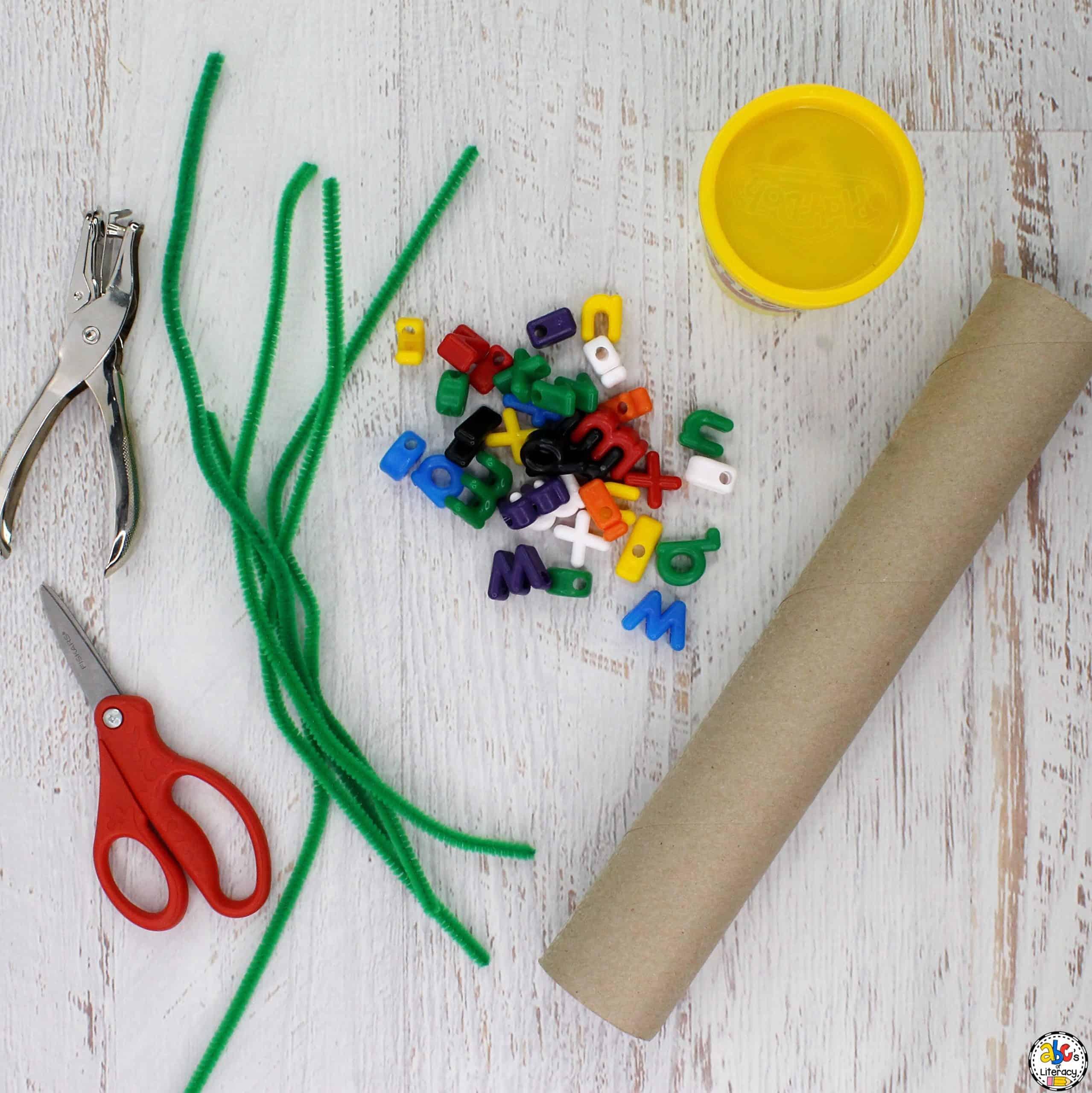 Simple STEAM Activity Supplies