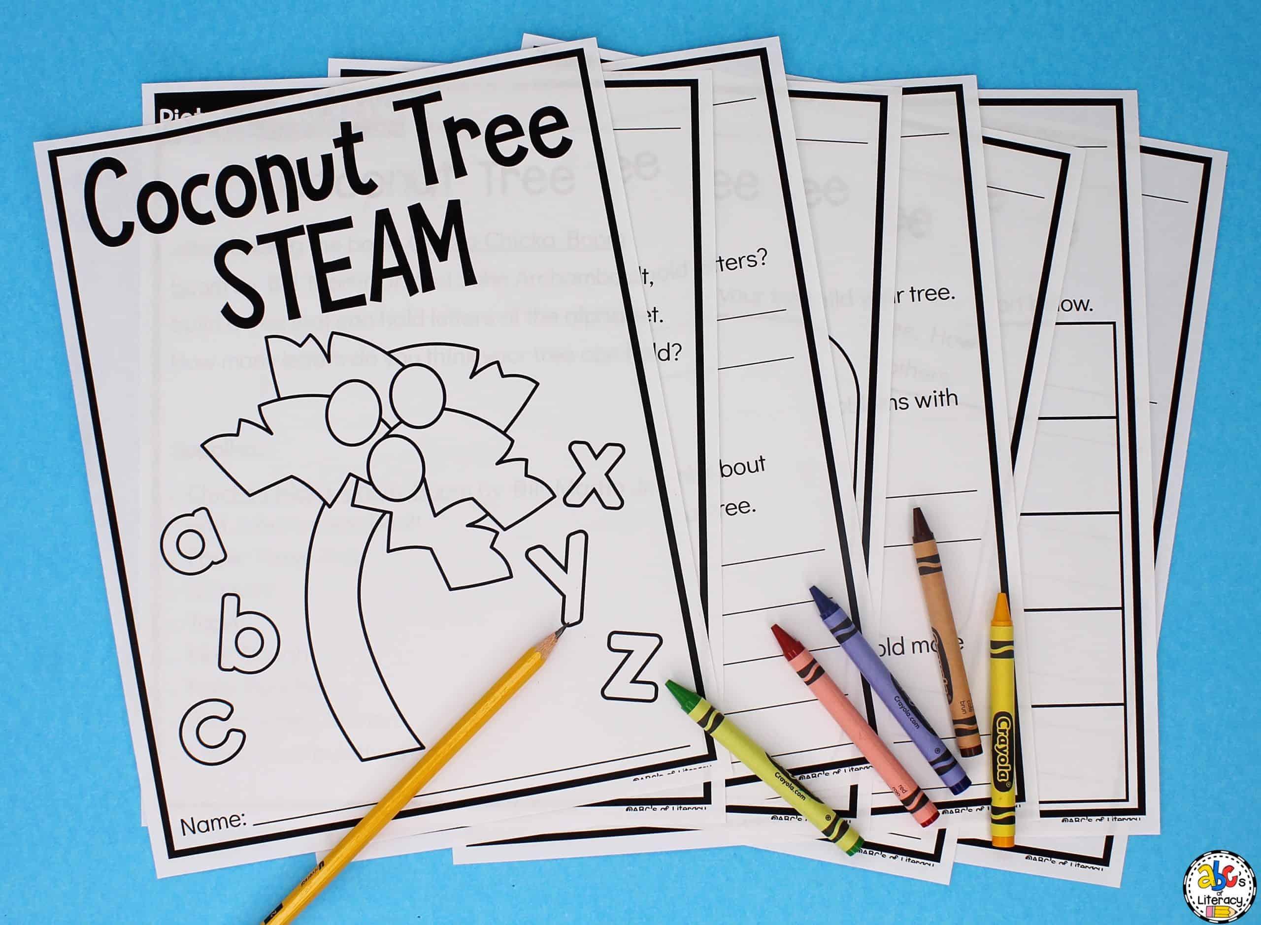 Coconut Tree STEAM Activity: Picture Book STEAM