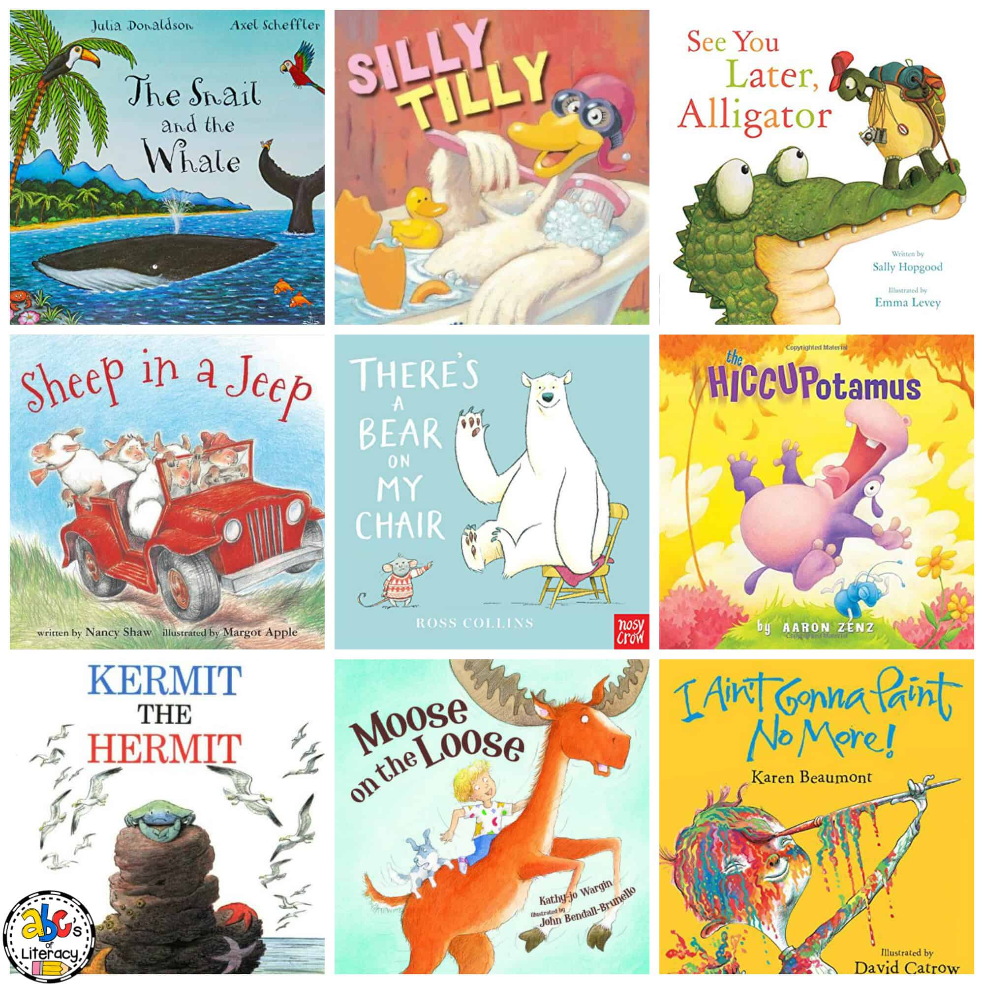 Rhyming Books for Pre-Readers