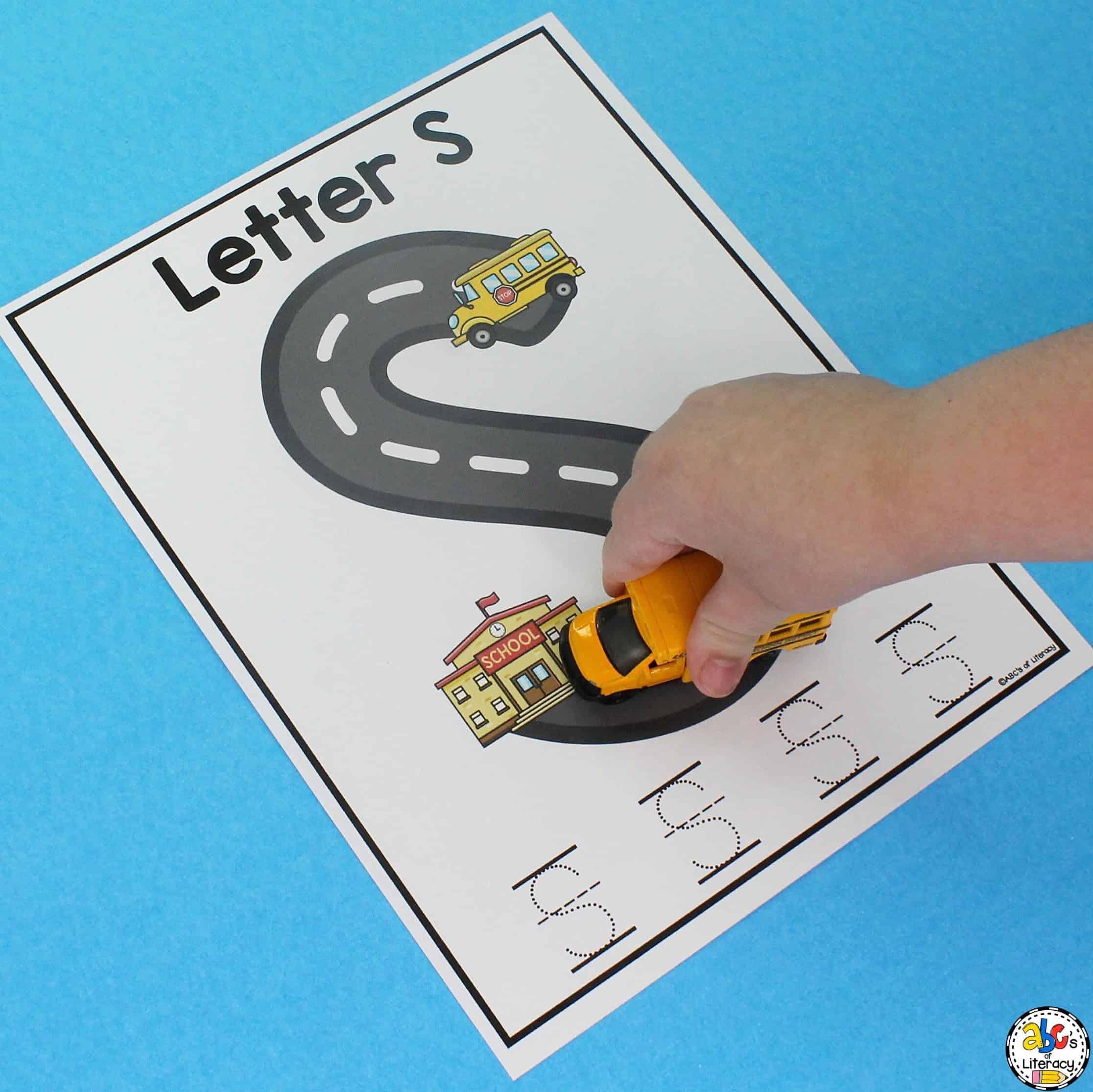 School Letter Writing Mats