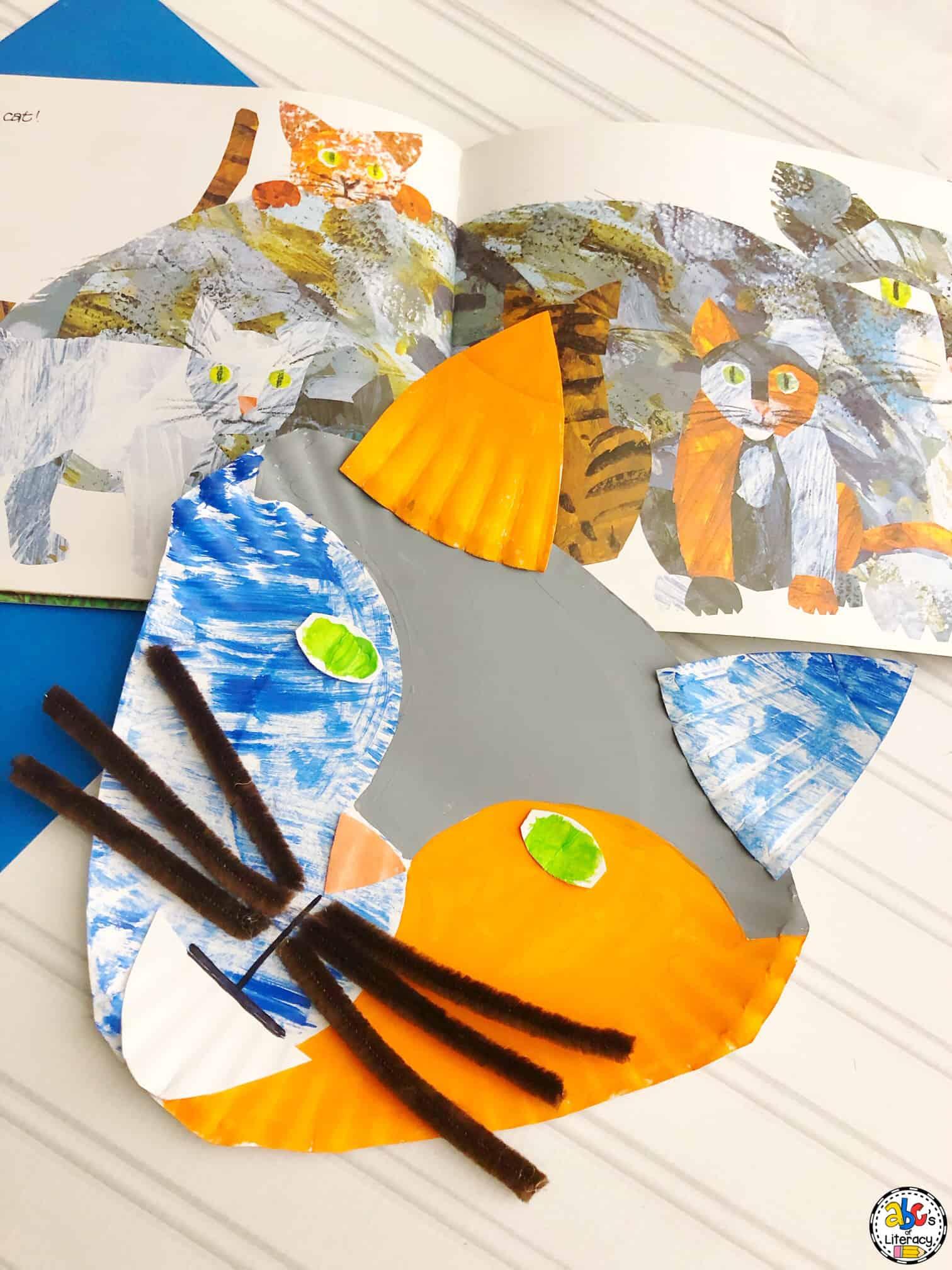 Paper Plate Cat Craft
