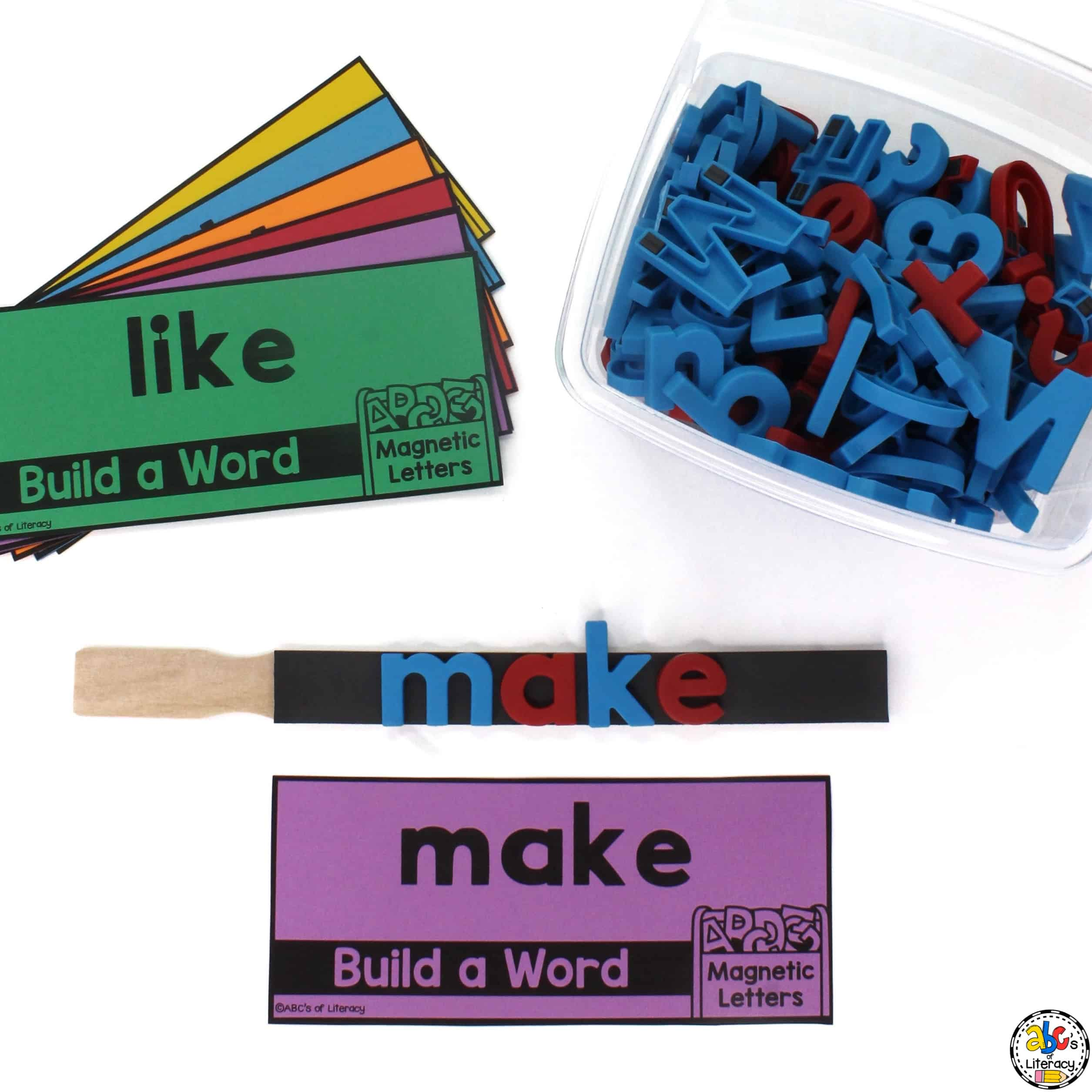Magnetic Letter Sight Word Stick