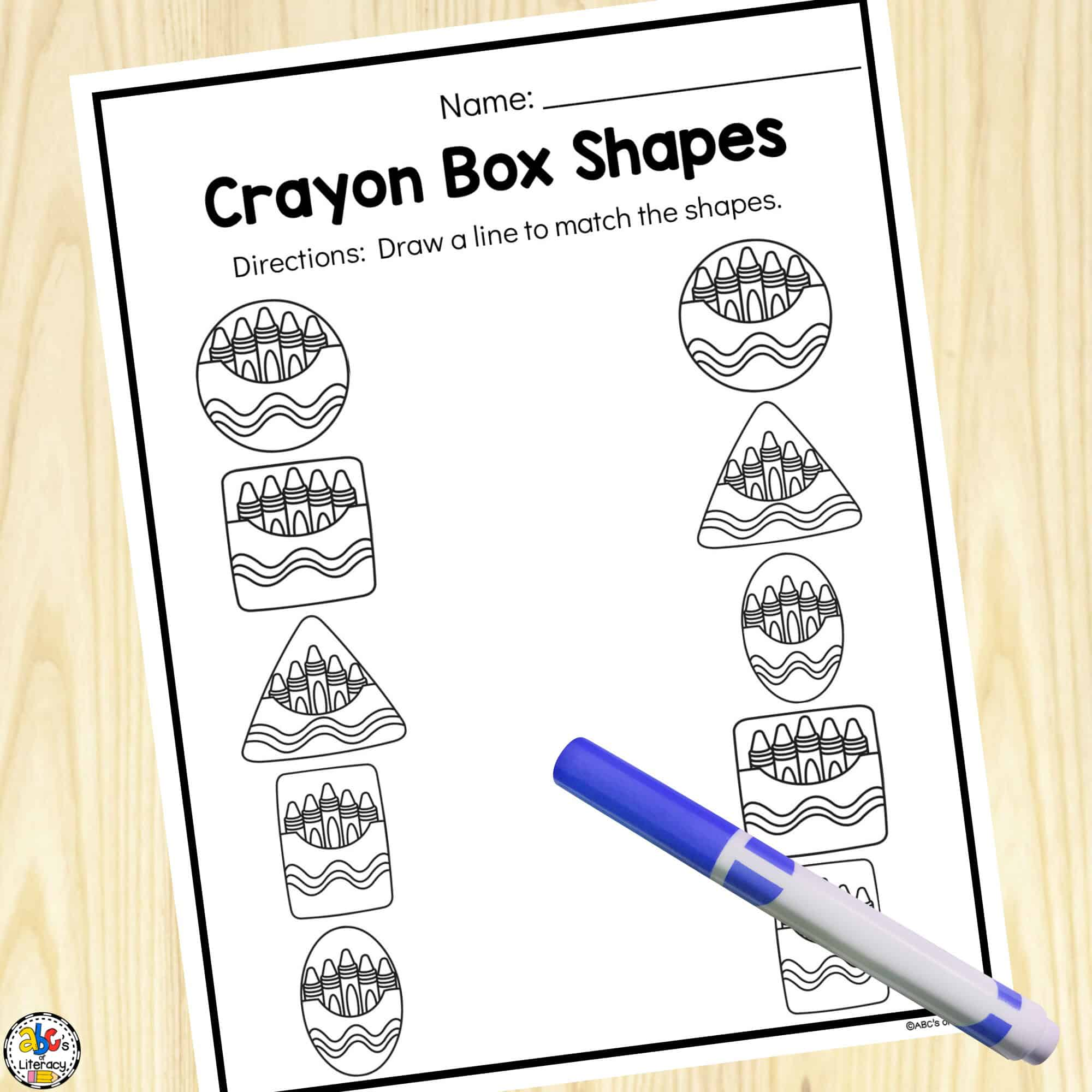PreK Worksheets
