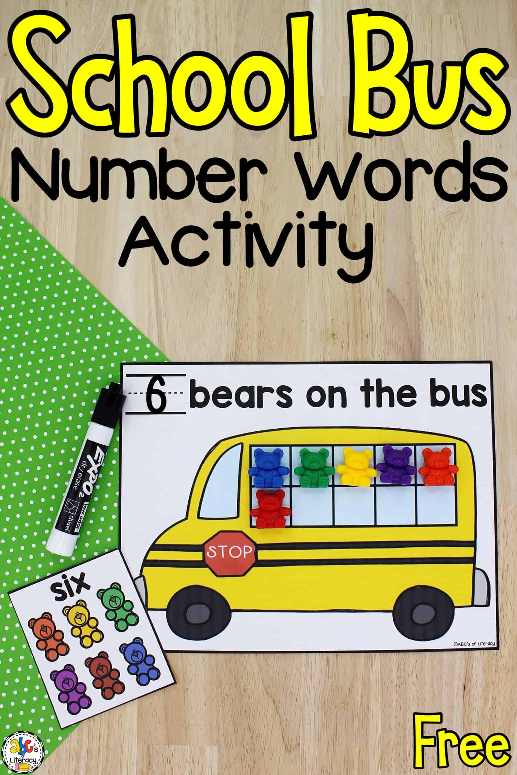 reading activity for preschool