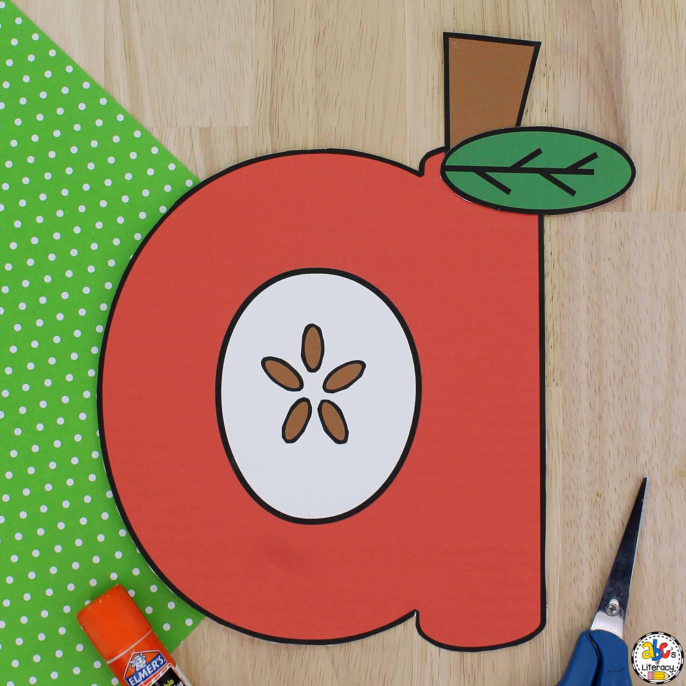 Letter a Apple Craft