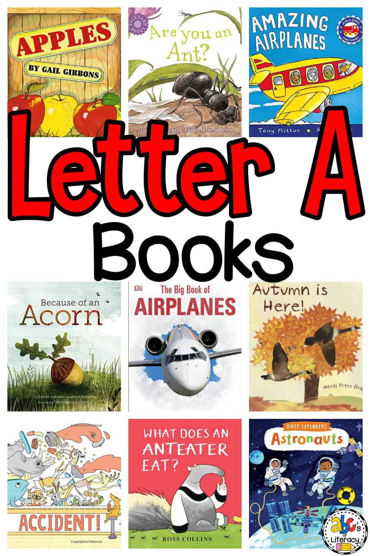 Letter A Books