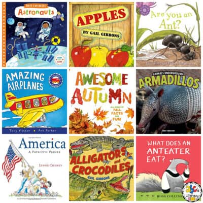 Letter A Book List for Kids