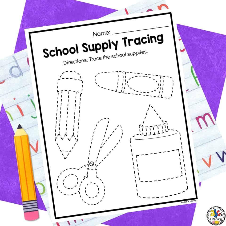 School Preschool Worksheets