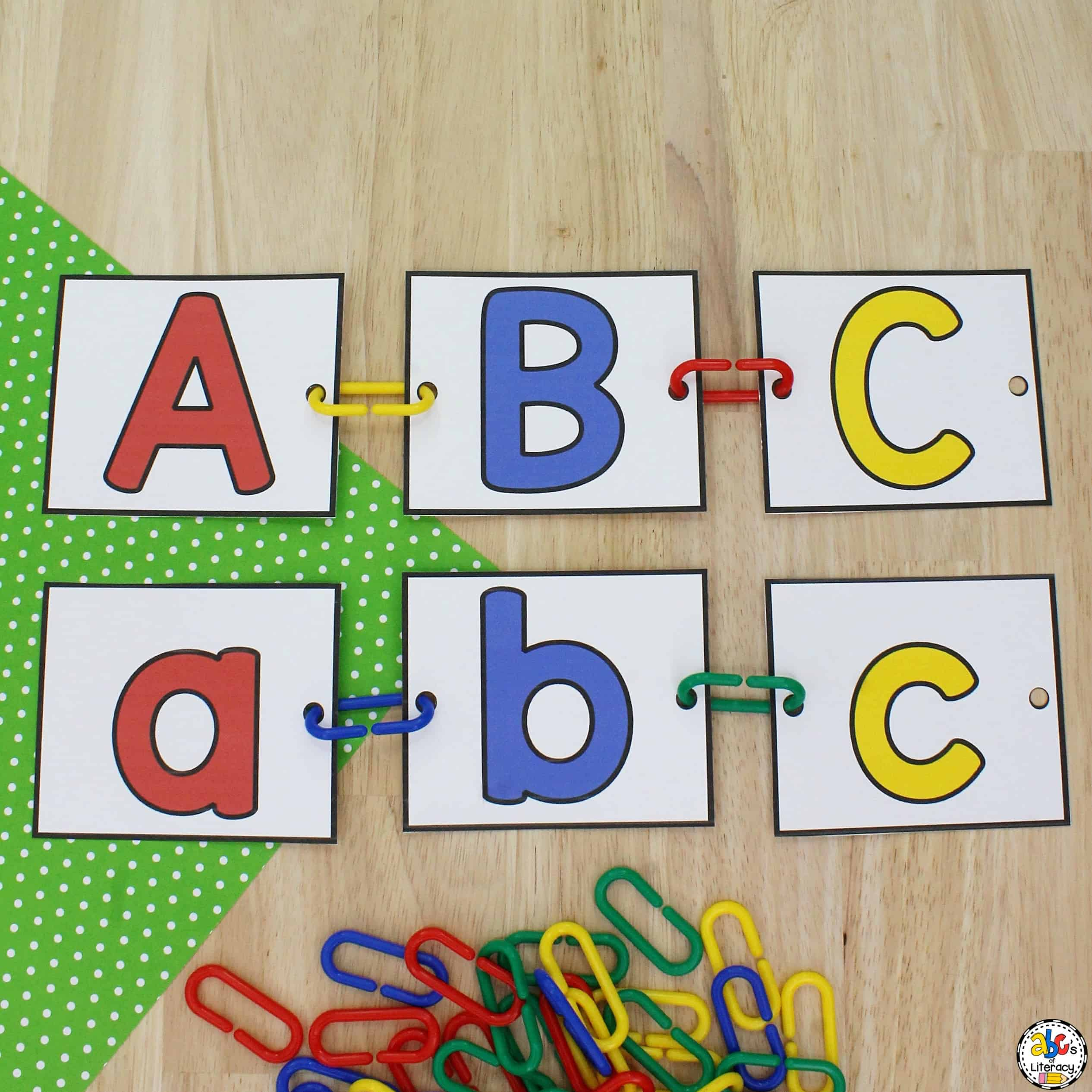 Connect Links Letter Order Activity