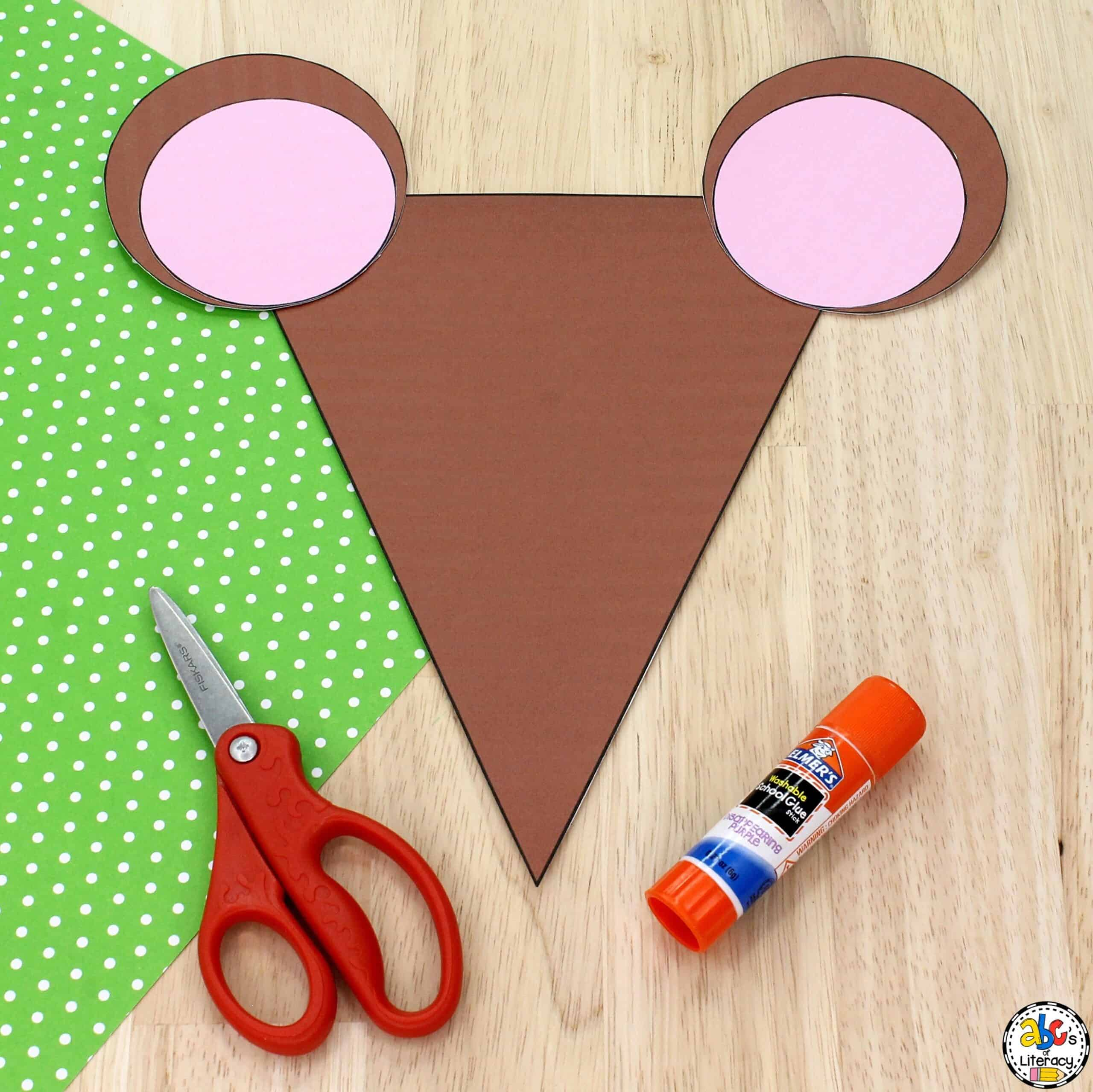 Mouse Shape Craft for Kids