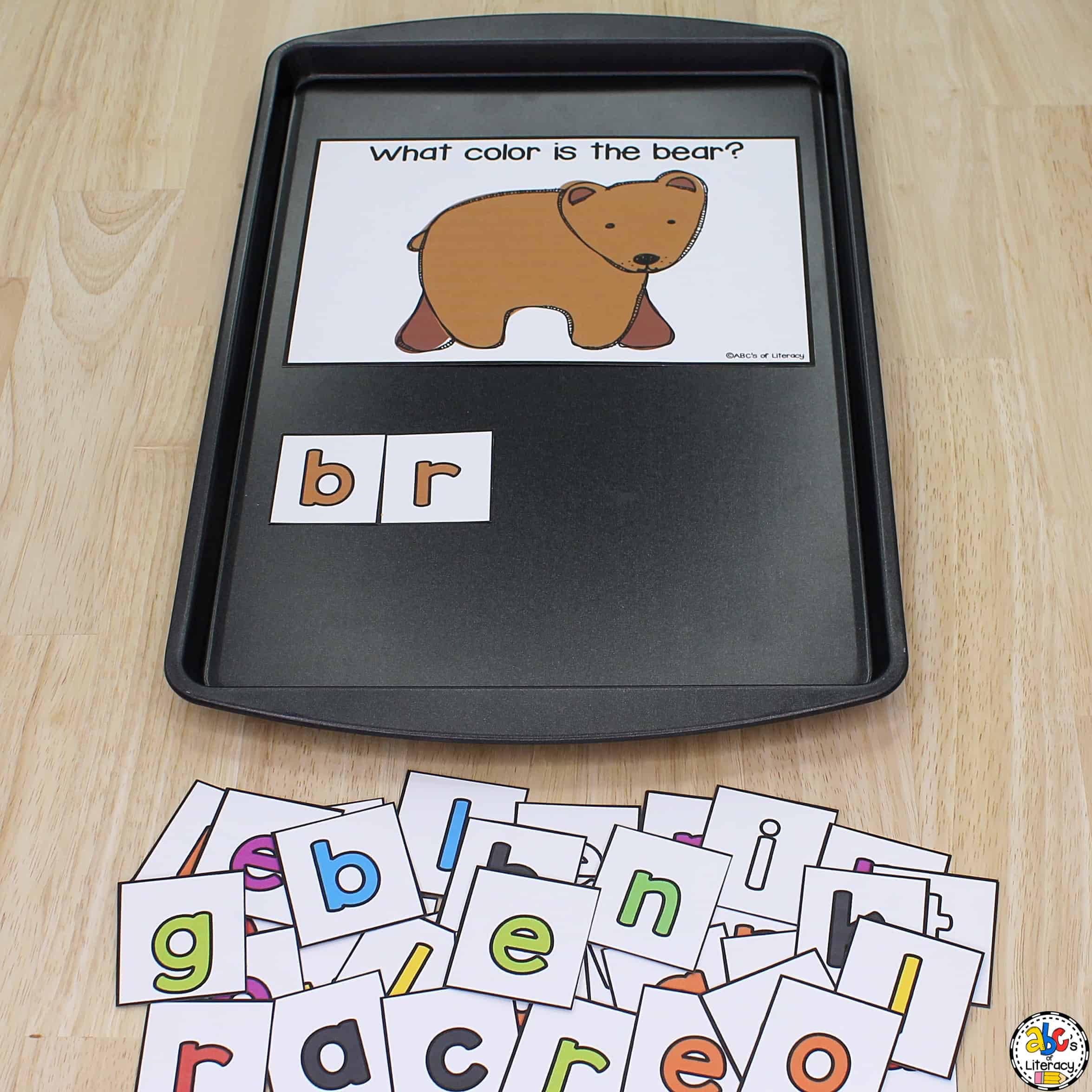 Magnetic Letter Activity