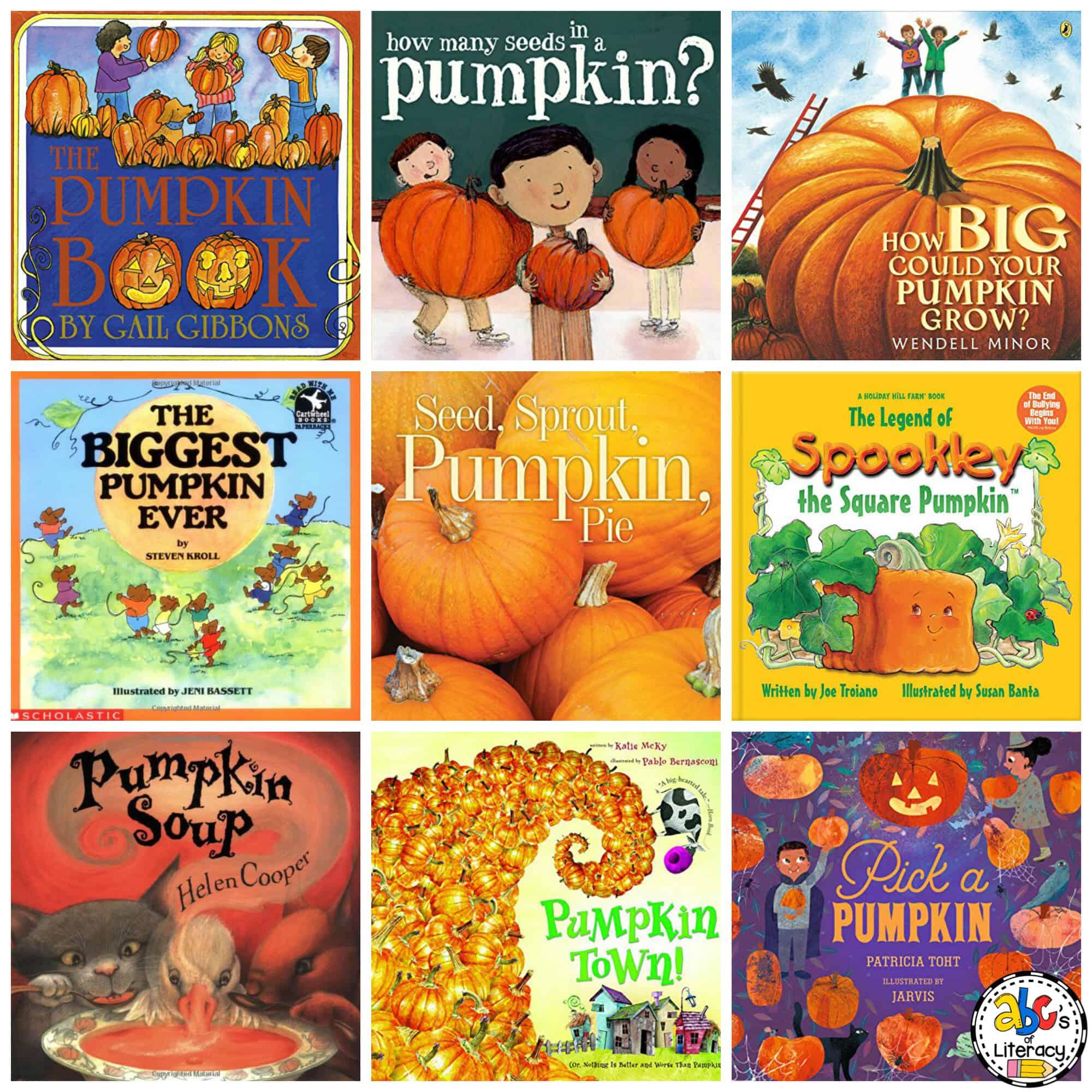 Pumpkin Book List for Kids