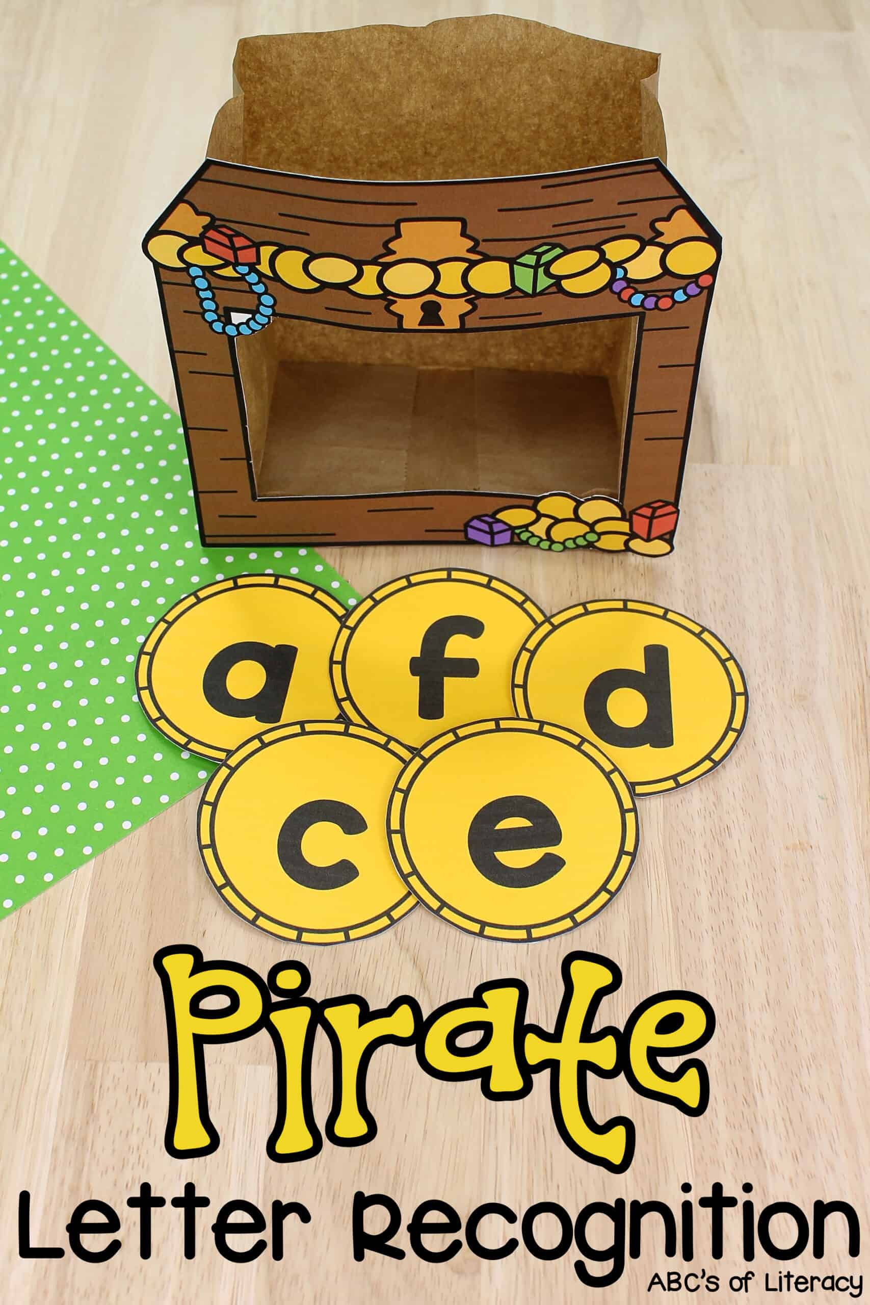 Pirate Letter Recognition Activity