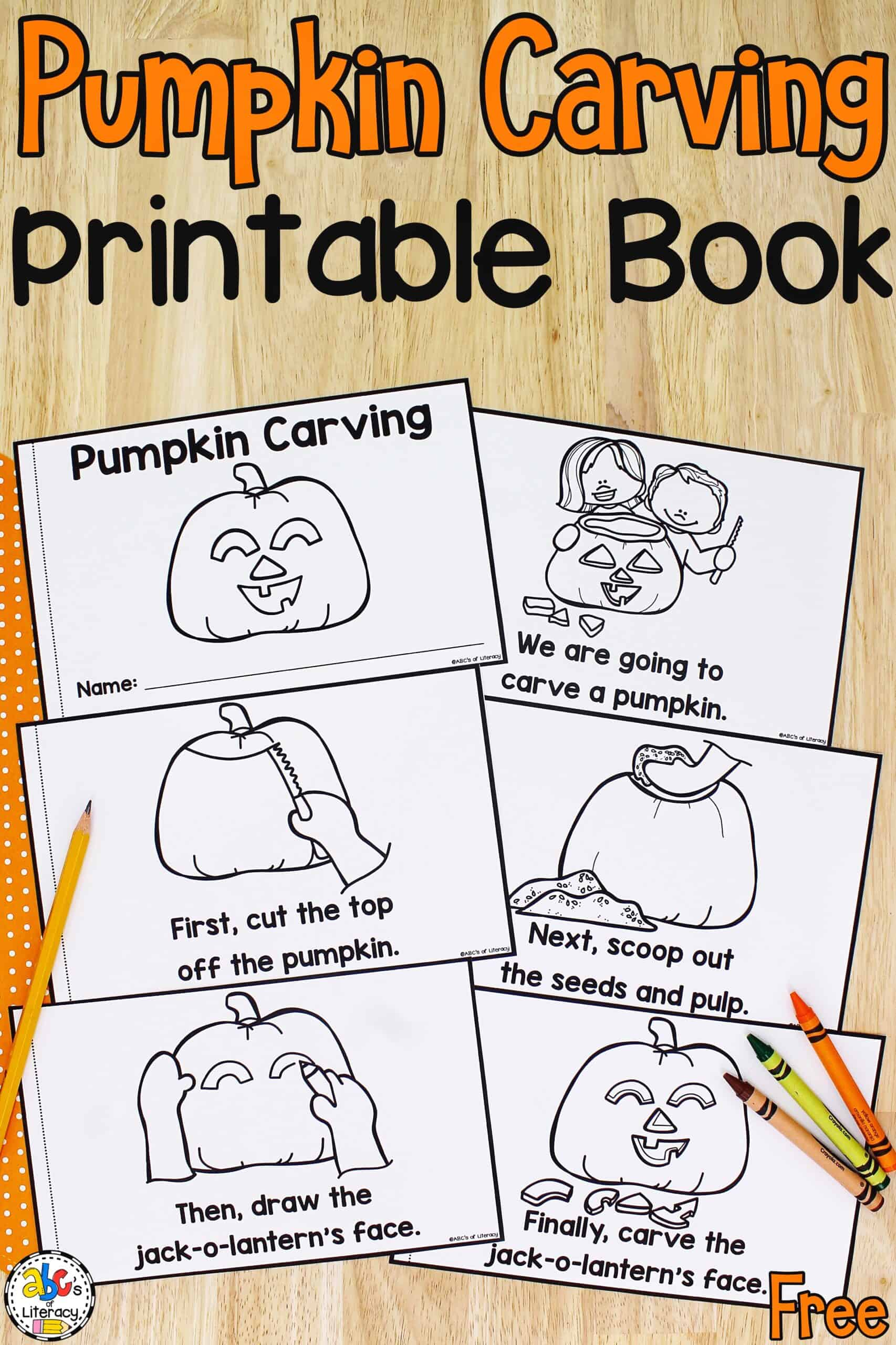 How To Carve A Pumpkin Book