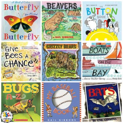 Letter B Book List for Kids
