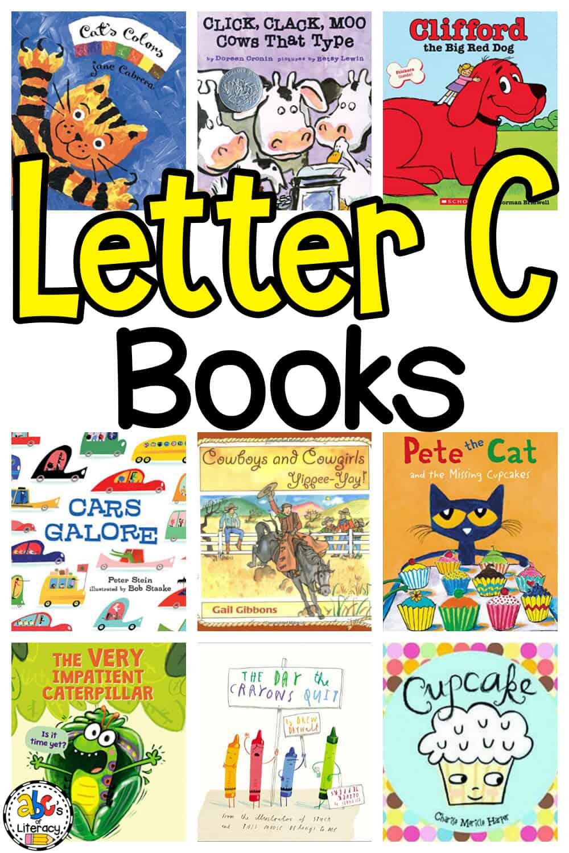 Letter C Book List for Kids