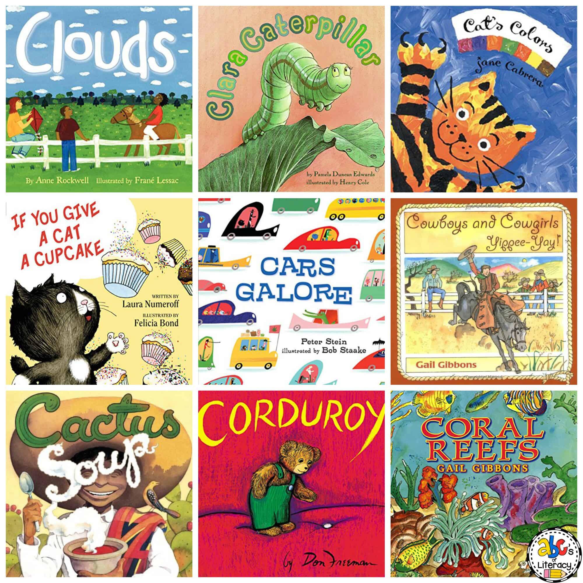 Alphabet Books for Each Letter