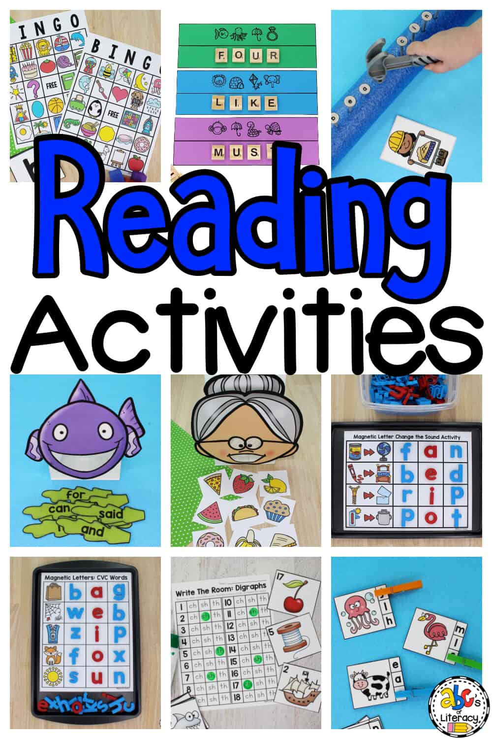 Reading Activities for Kids