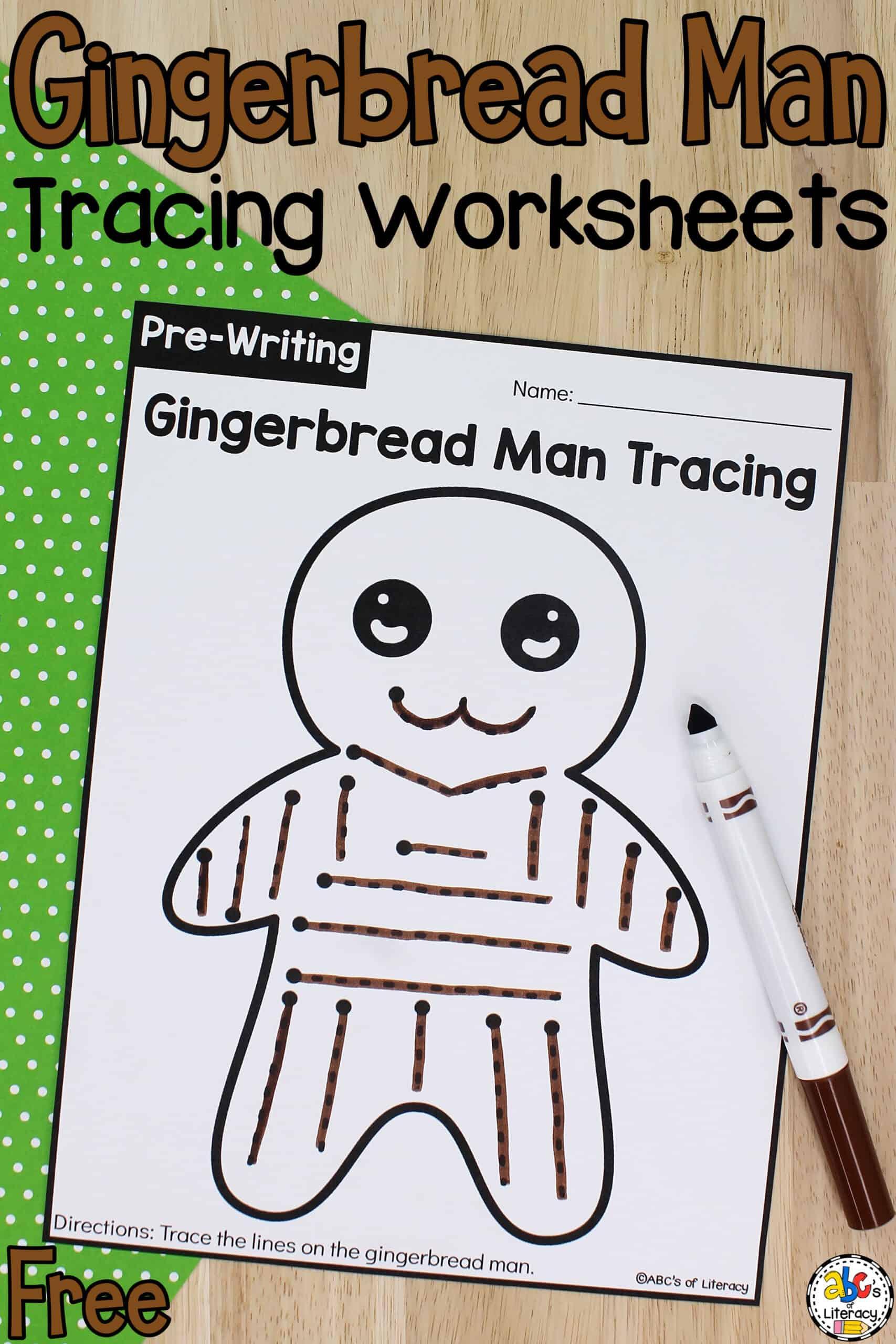Tracing Worksheets for Preschoolers