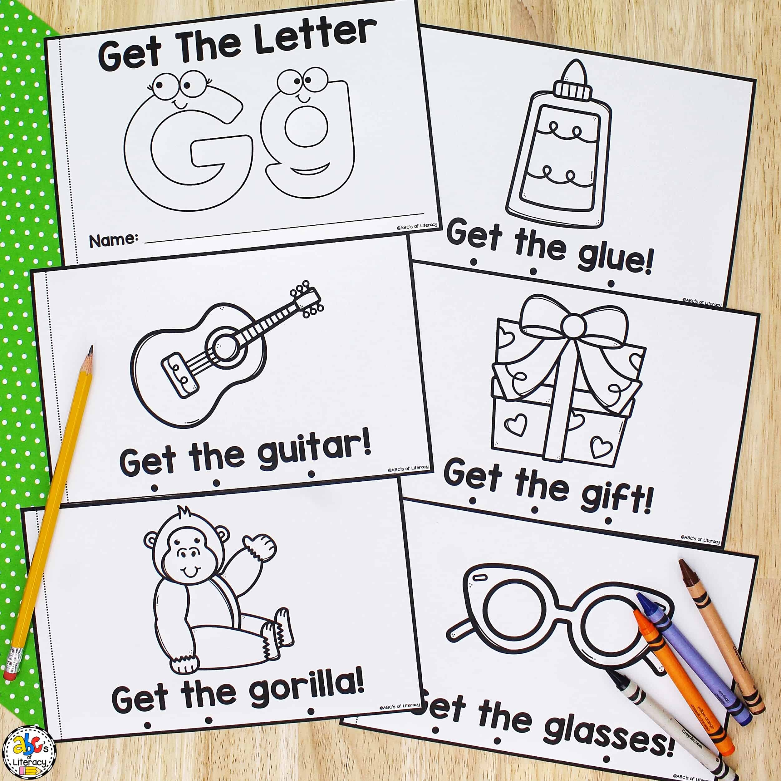 Letter Book for Every Letter