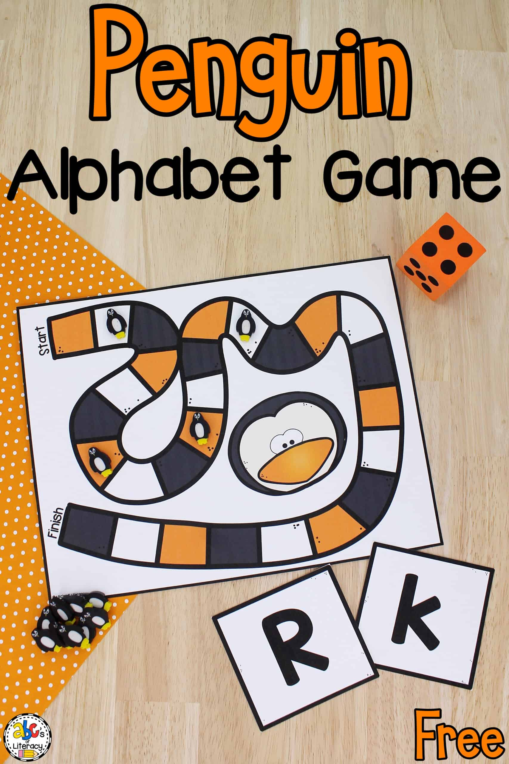 Penguin Alphabet Game