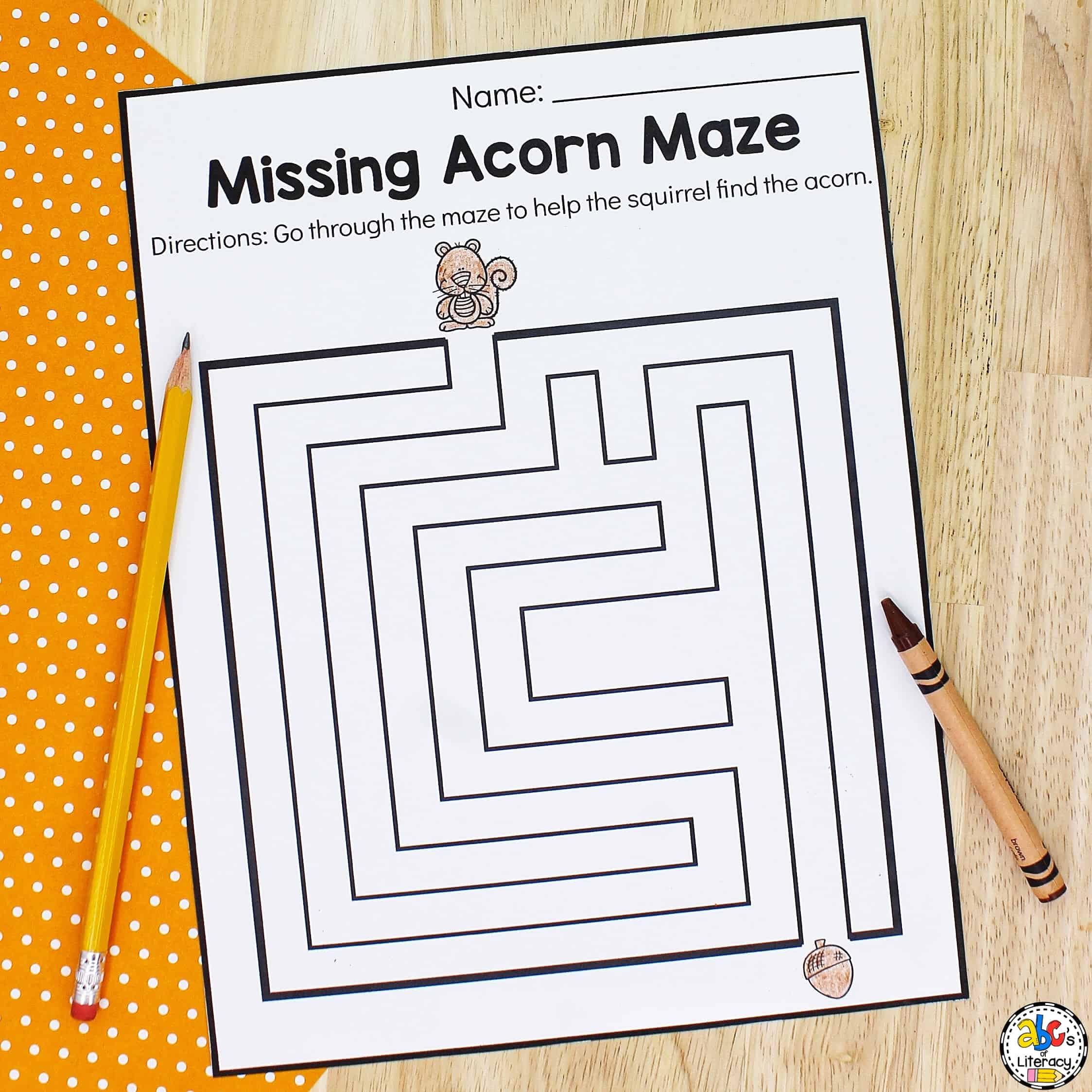 Worksheets for Preschoolers