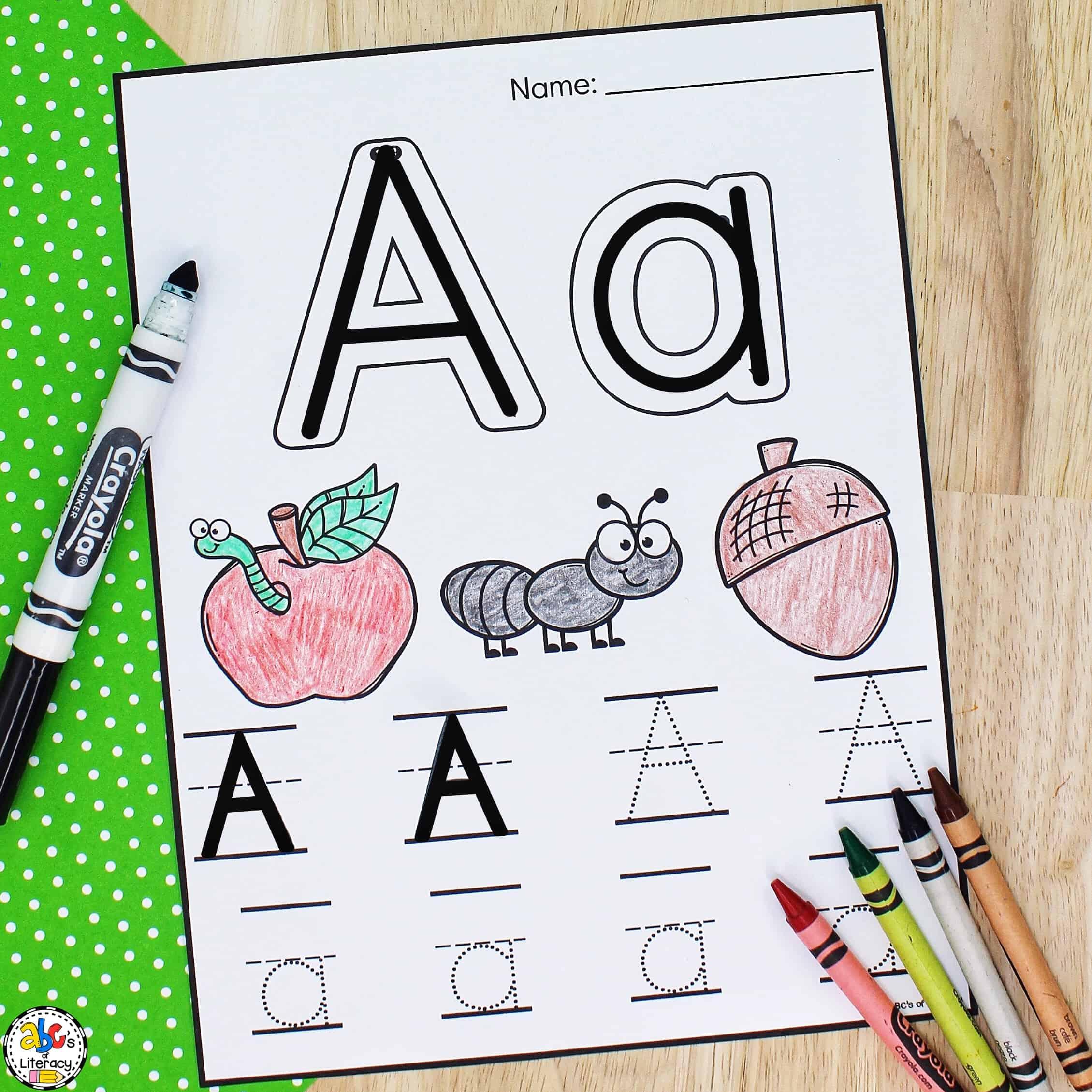 Letter Preschool Worksheets