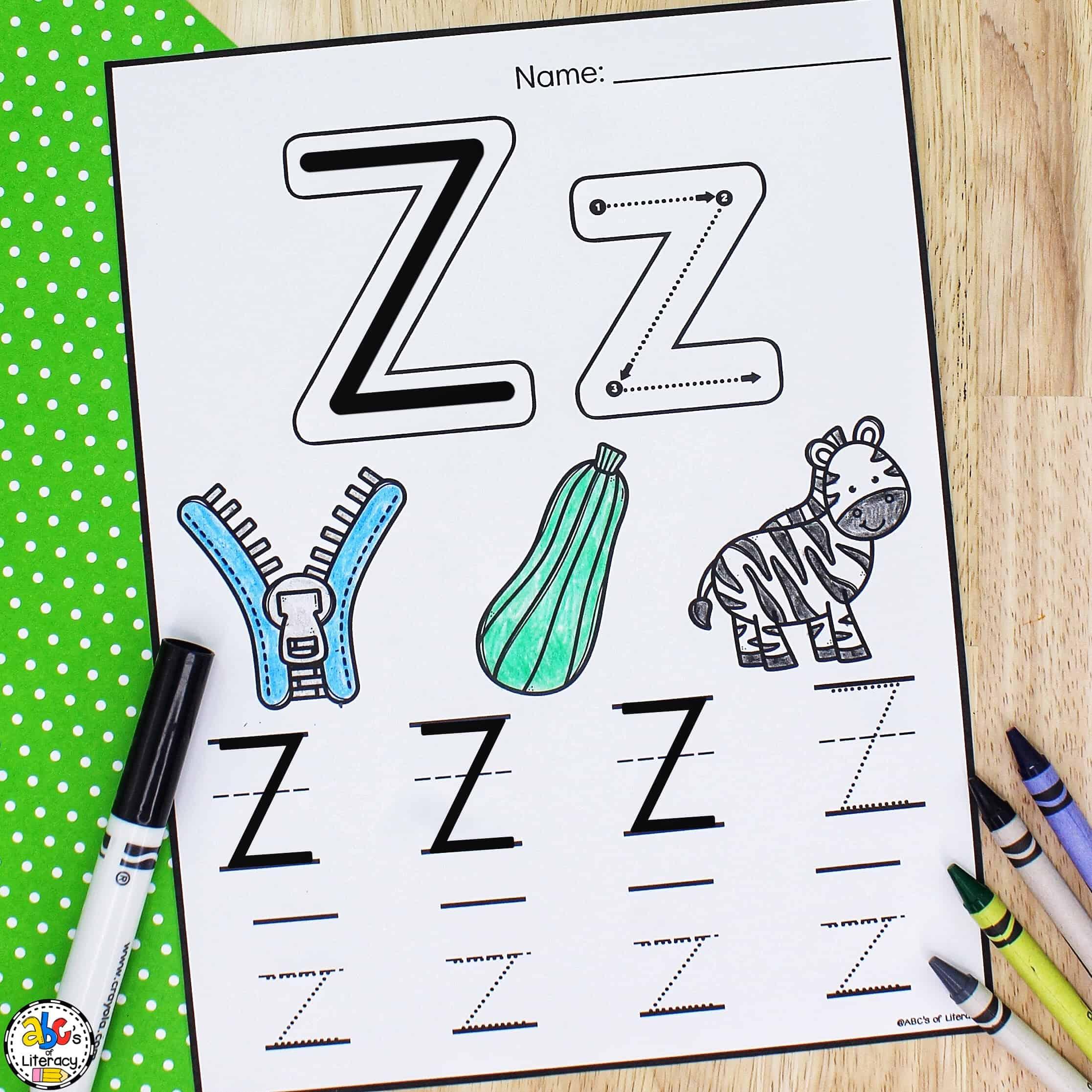 ABC Preschool Worksheets