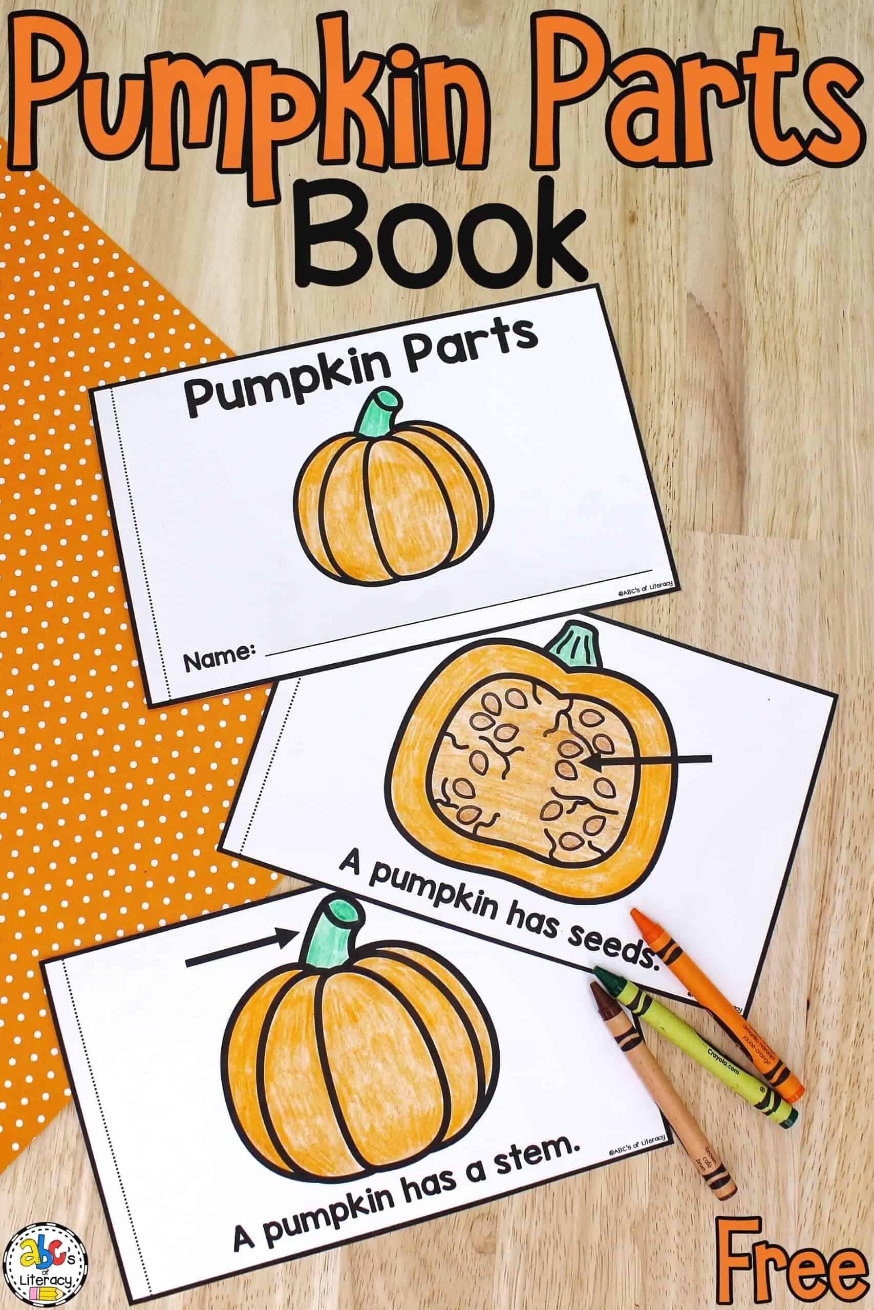 Parts of a Pumpkin Book