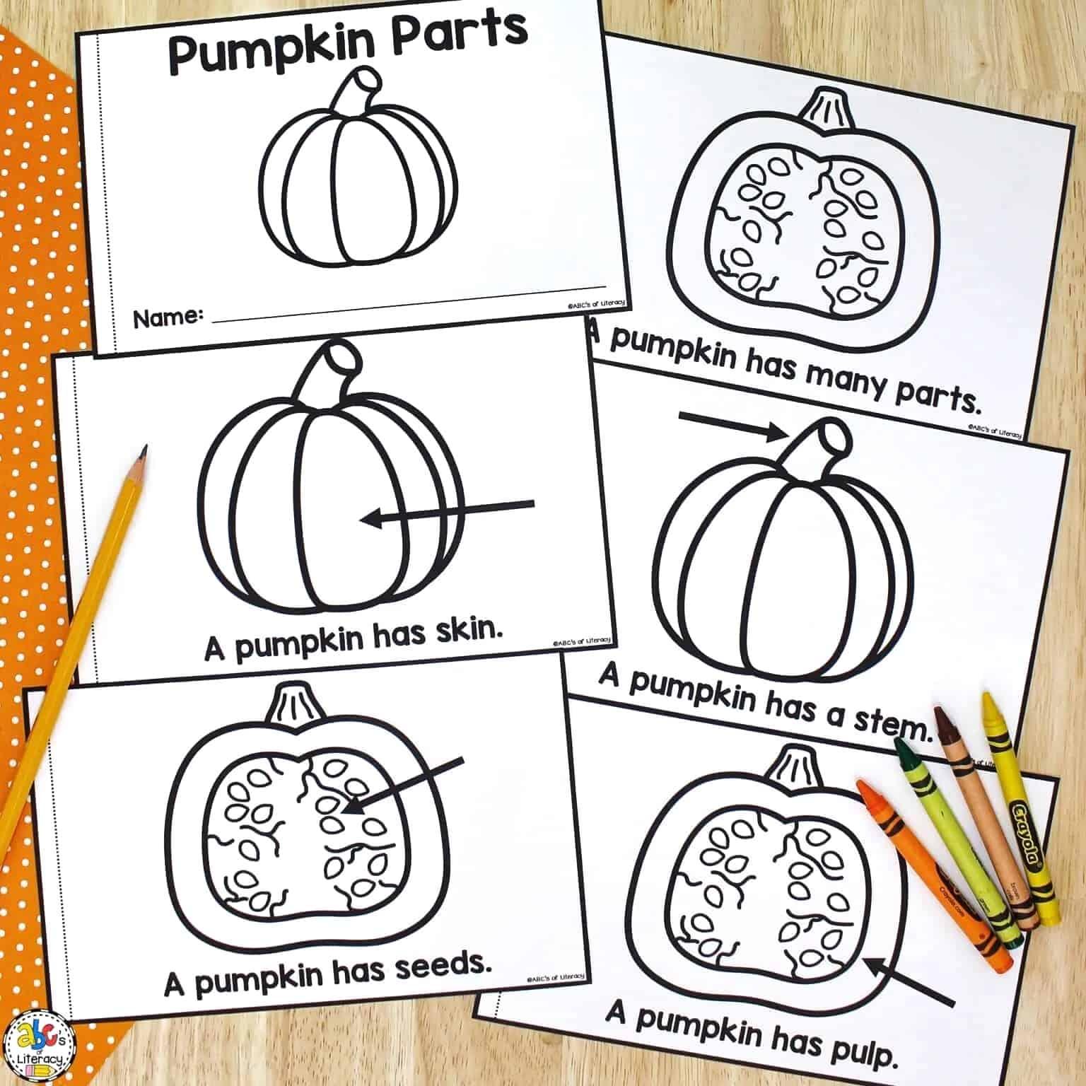 Pumpkin Parts Book