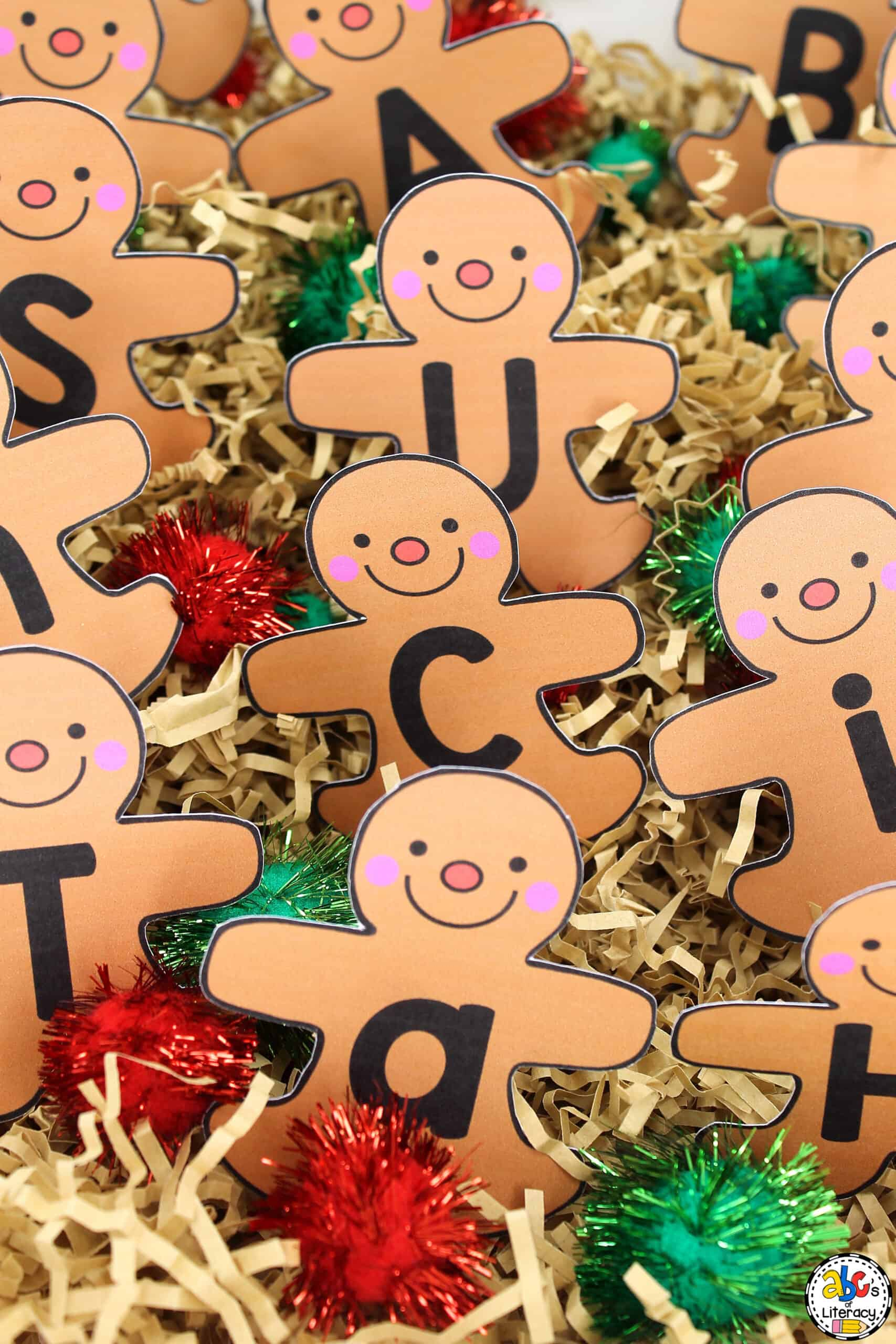 Gingerbread Man Sensory Activity