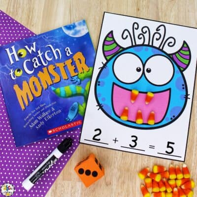 Monster Teeth Addition Game
