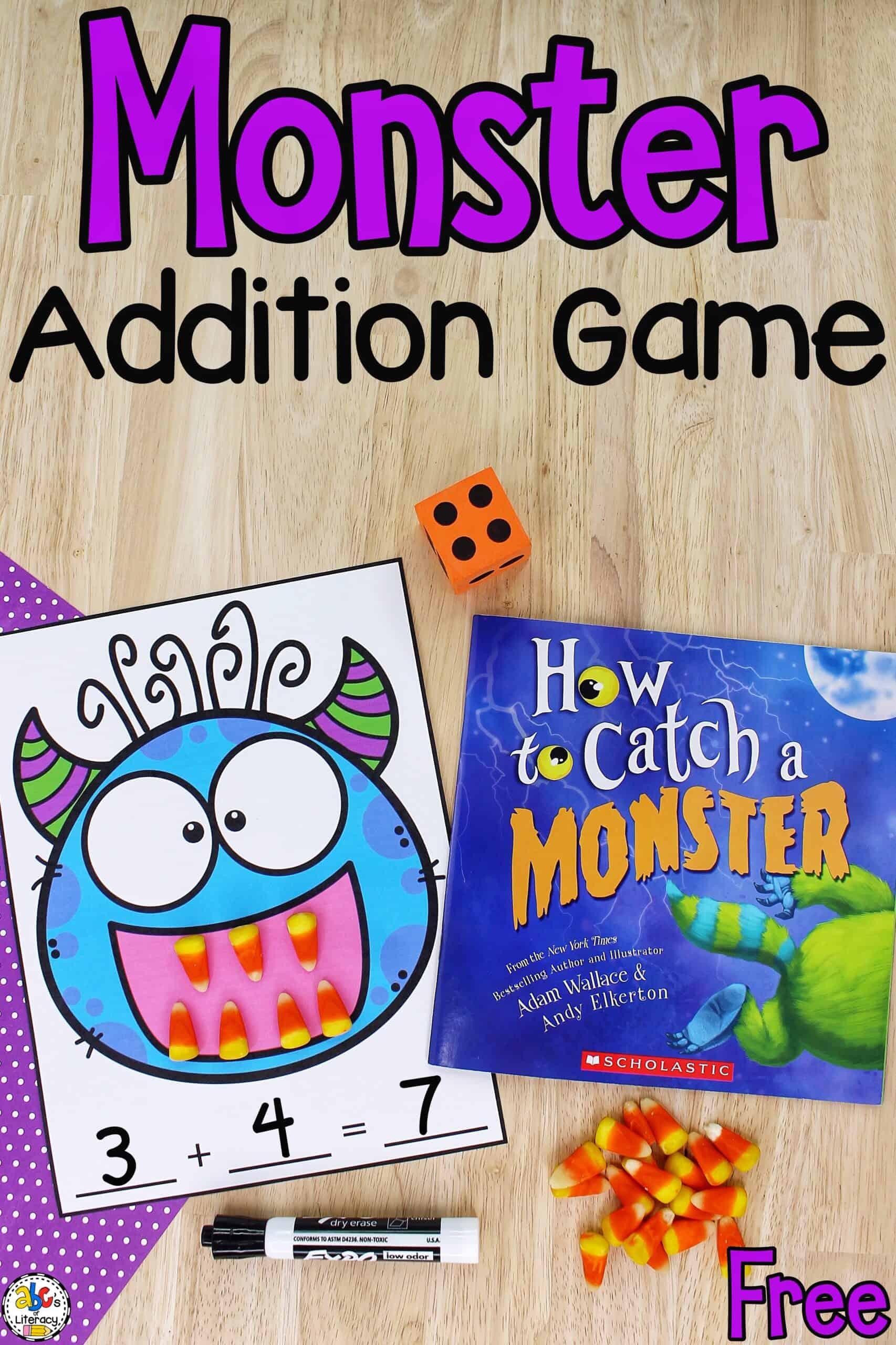 Monster Addition Game
