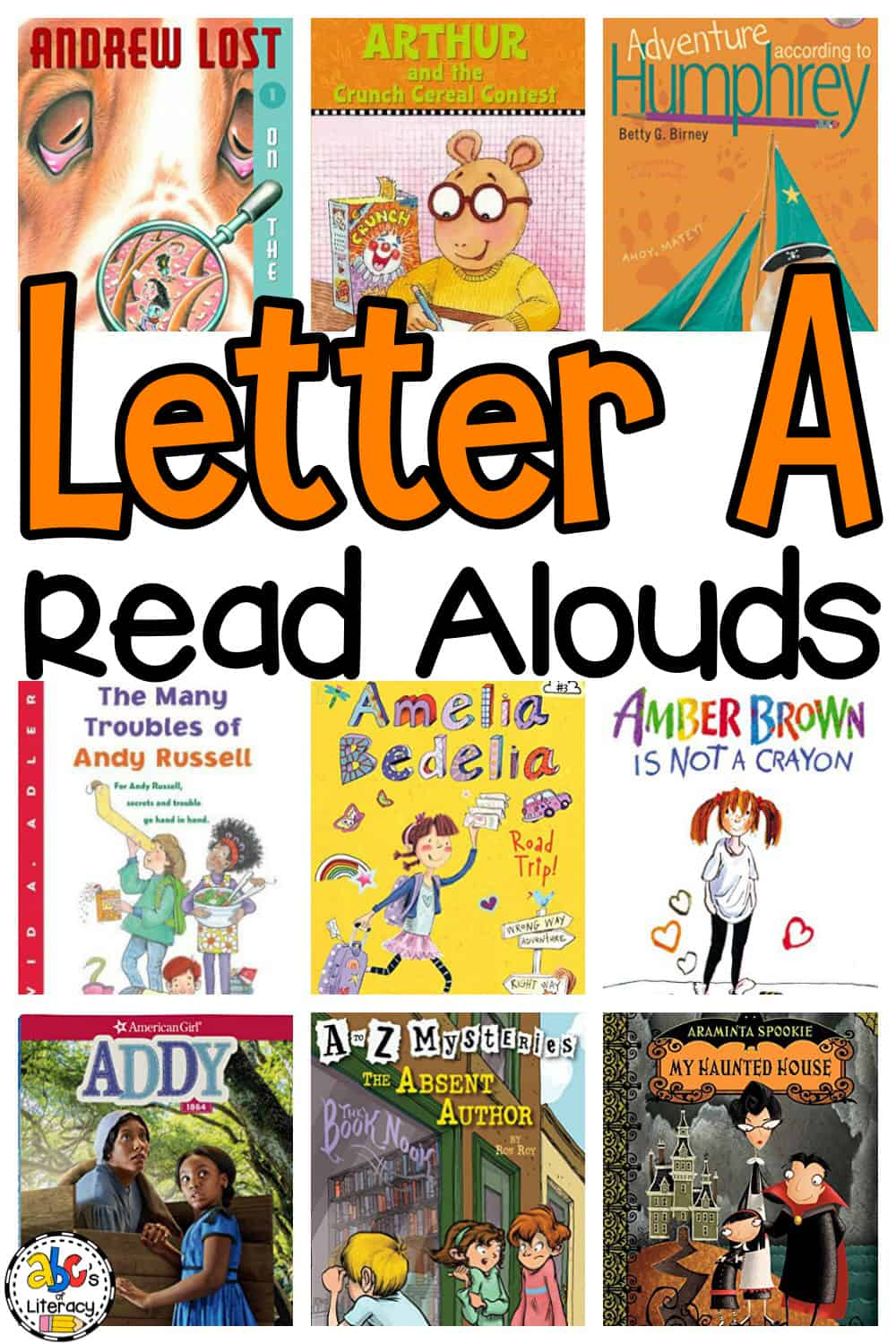 Letter A Read Alouds