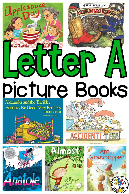 Letter A Picture Books