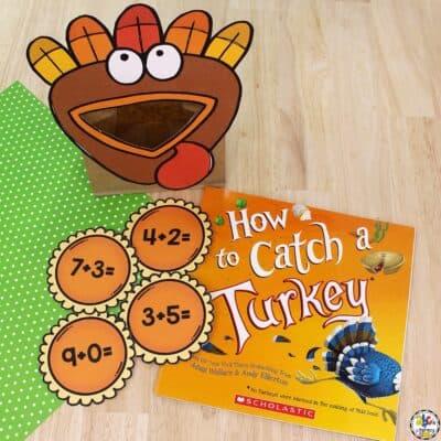 Turkey & Pie Addition Game