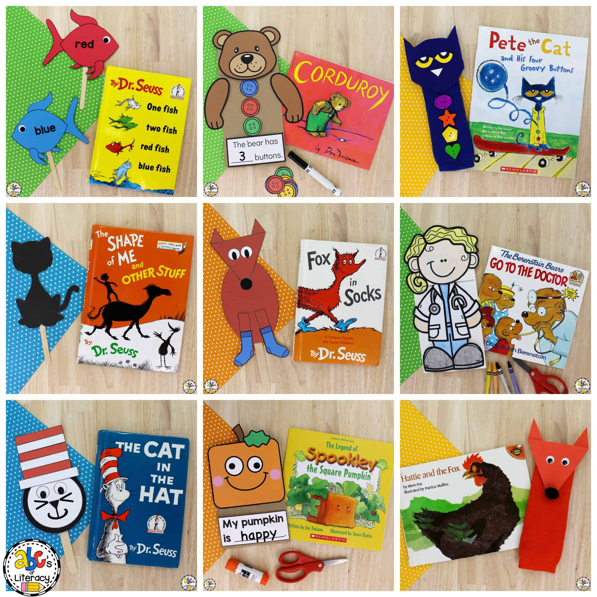 Book-Inspired Puppet Crafts