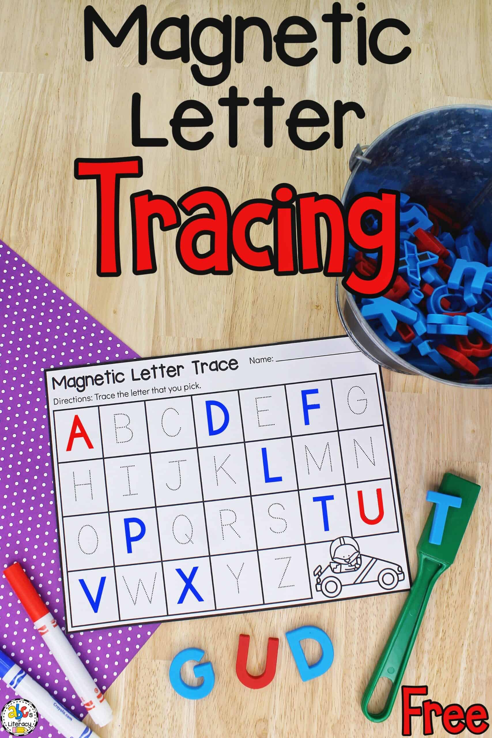 Magnetic Letter Tracing