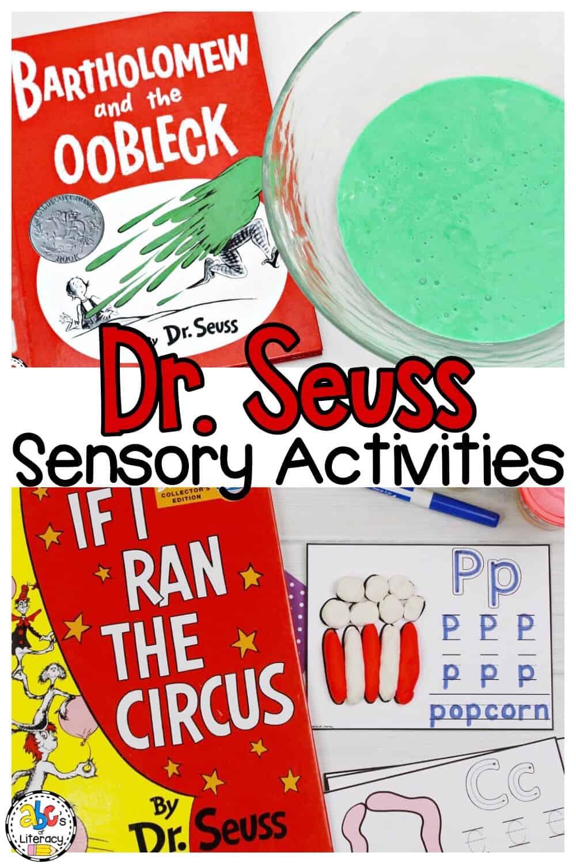 Dr. Seuss Sensory Activities