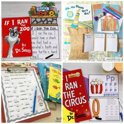 Dr. Seuss Writing Activities