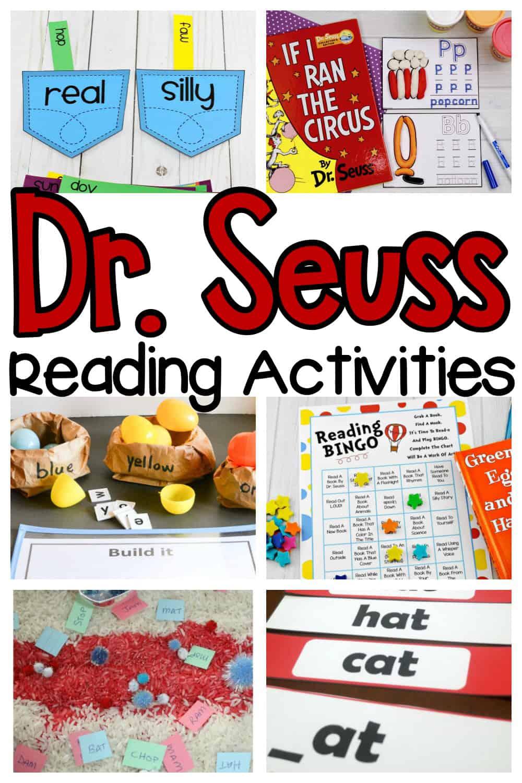 Dr. Seuss Reading Activities