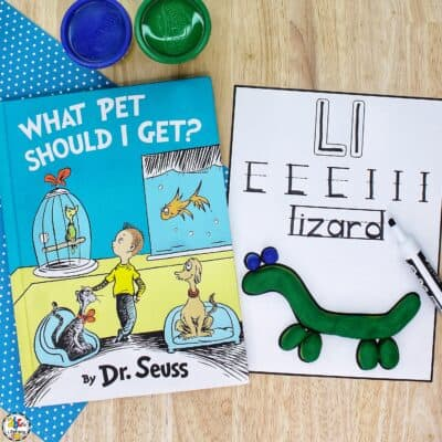 Pets Play Dough & Letter Mats