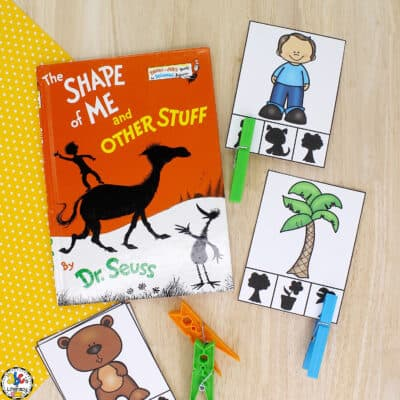 Shape of Me Shadow Clip Cards
