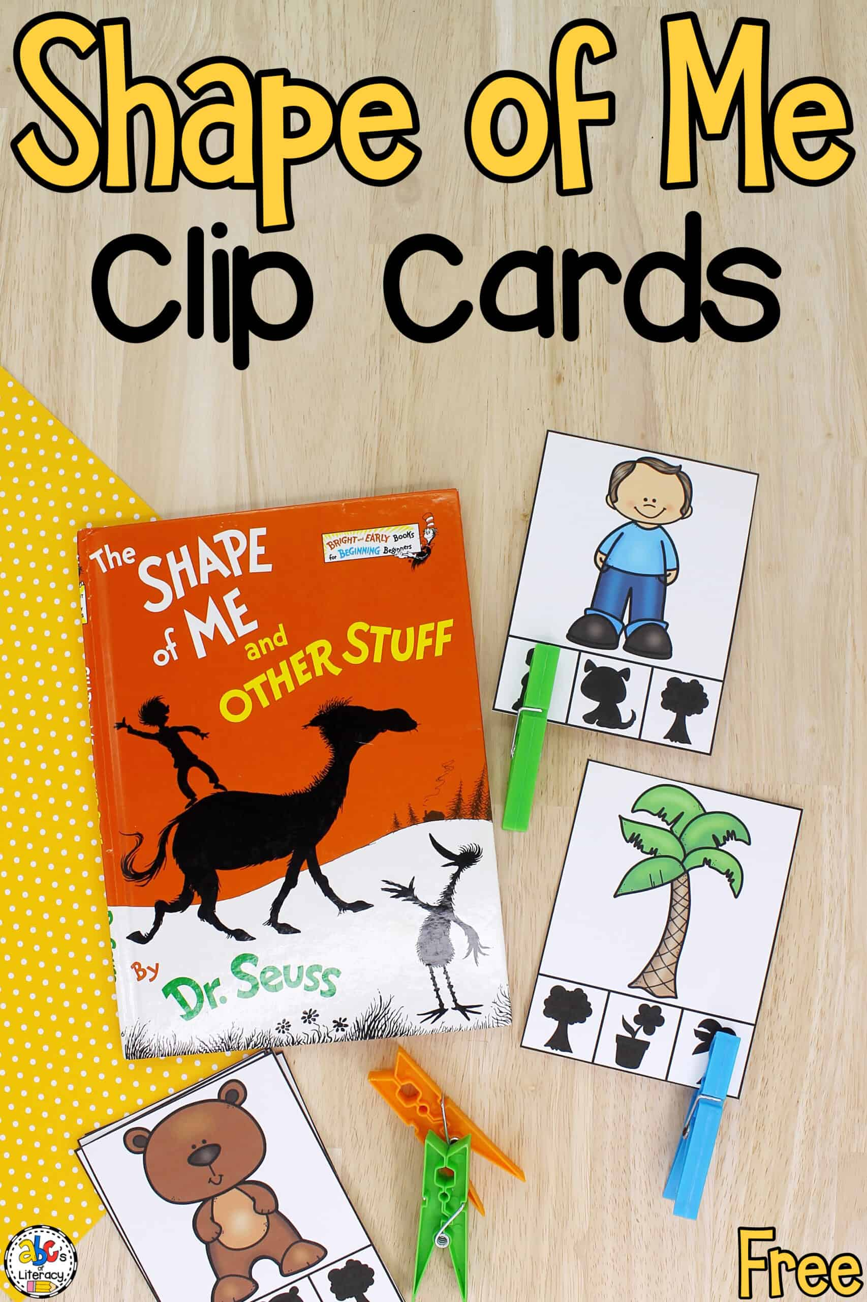 Shape of Me Clip Cards