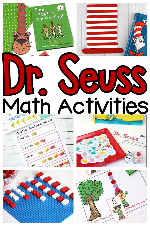 Dr. Seuss Math Activities
