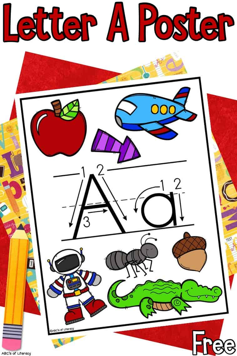 Letter A Poster Printable