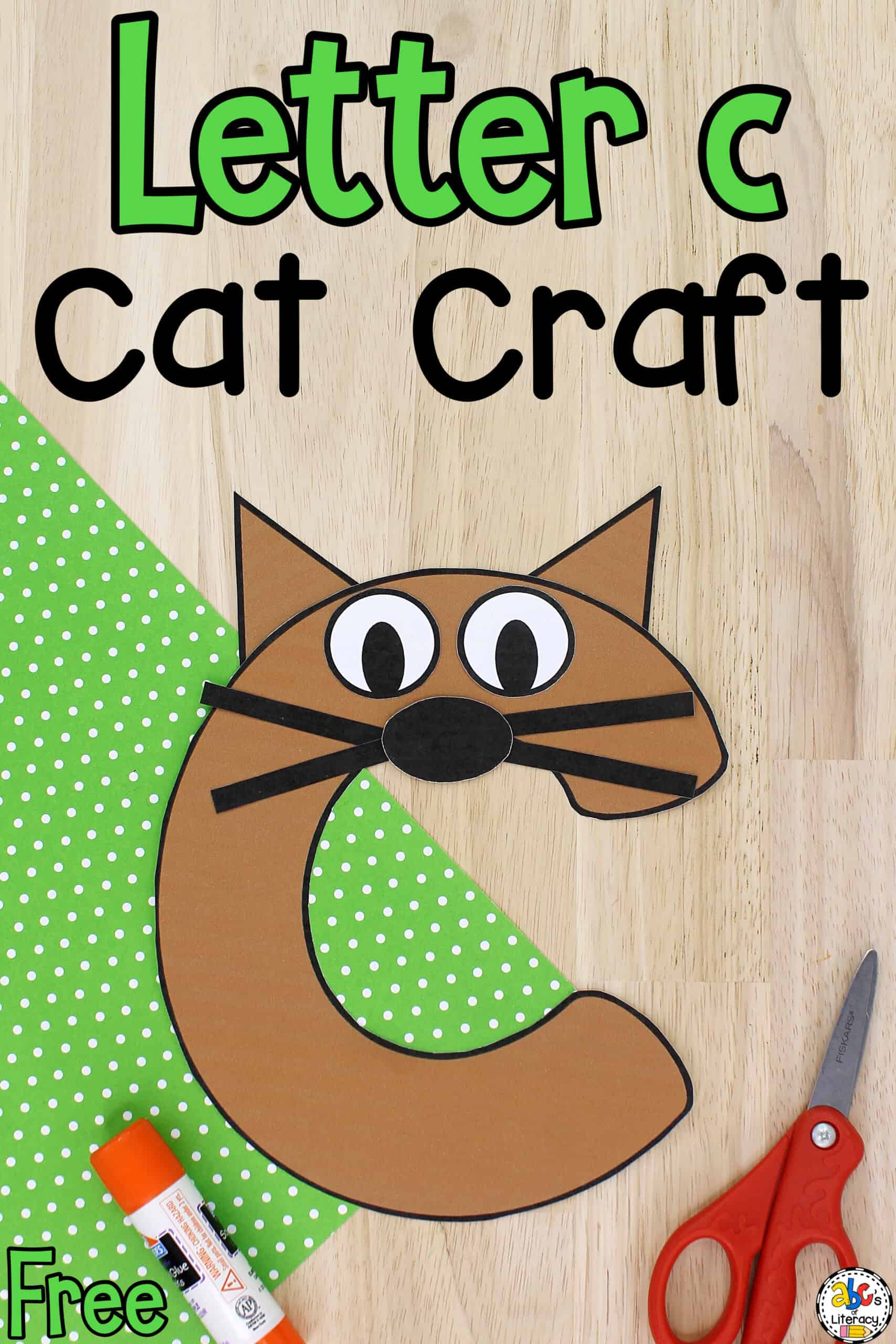 Letter C Cat Craft